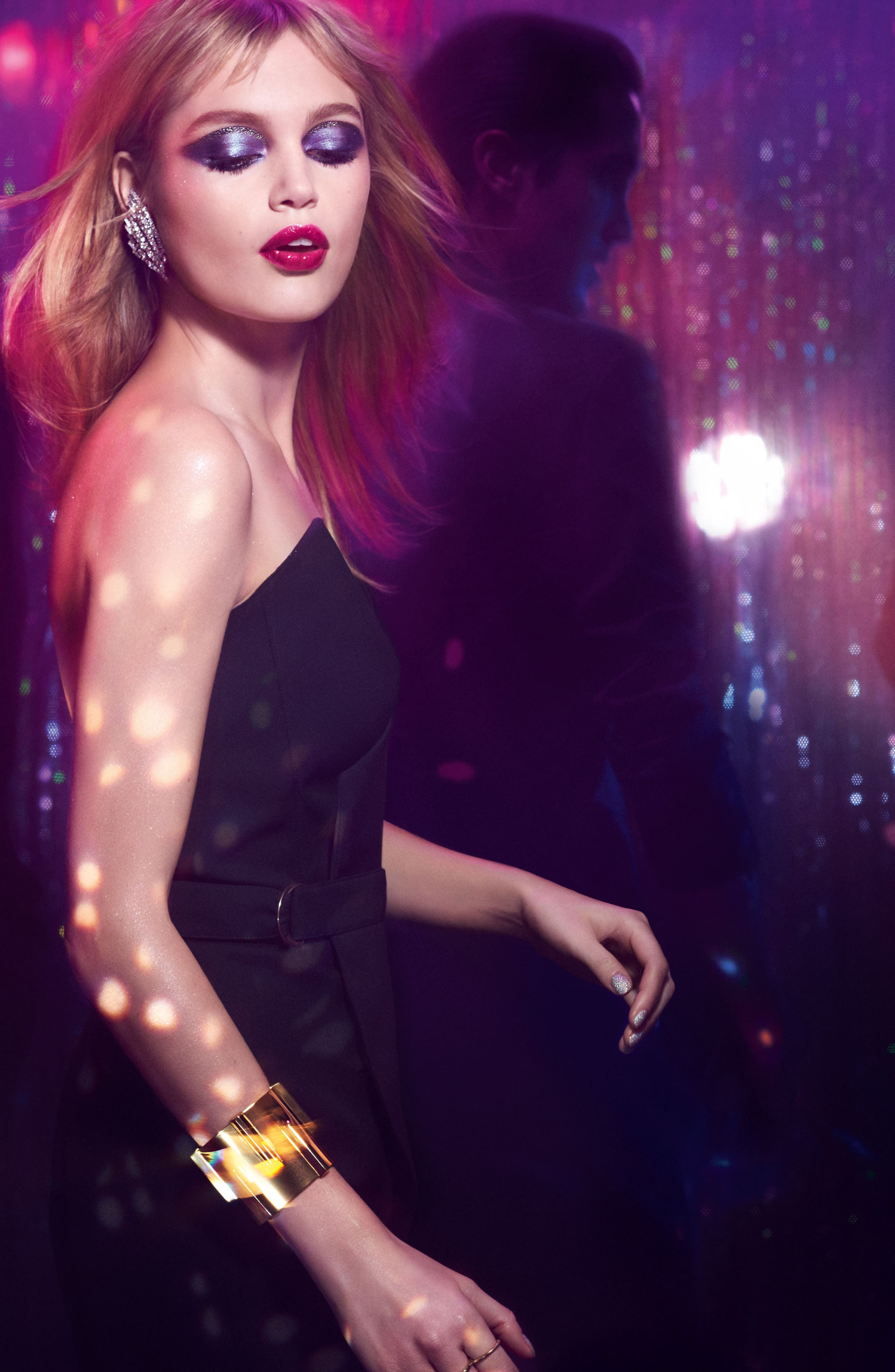 Alternate Image 2  - Yves Saint Laurent Night 54 Couture Variation Palette for Eyes & Lips