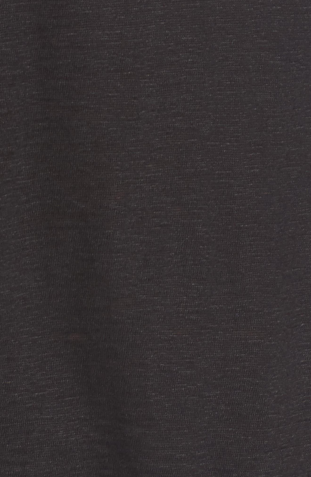 Alternate Image 5  - Eileen Fisher Organic Linen Jersey Boxy Top