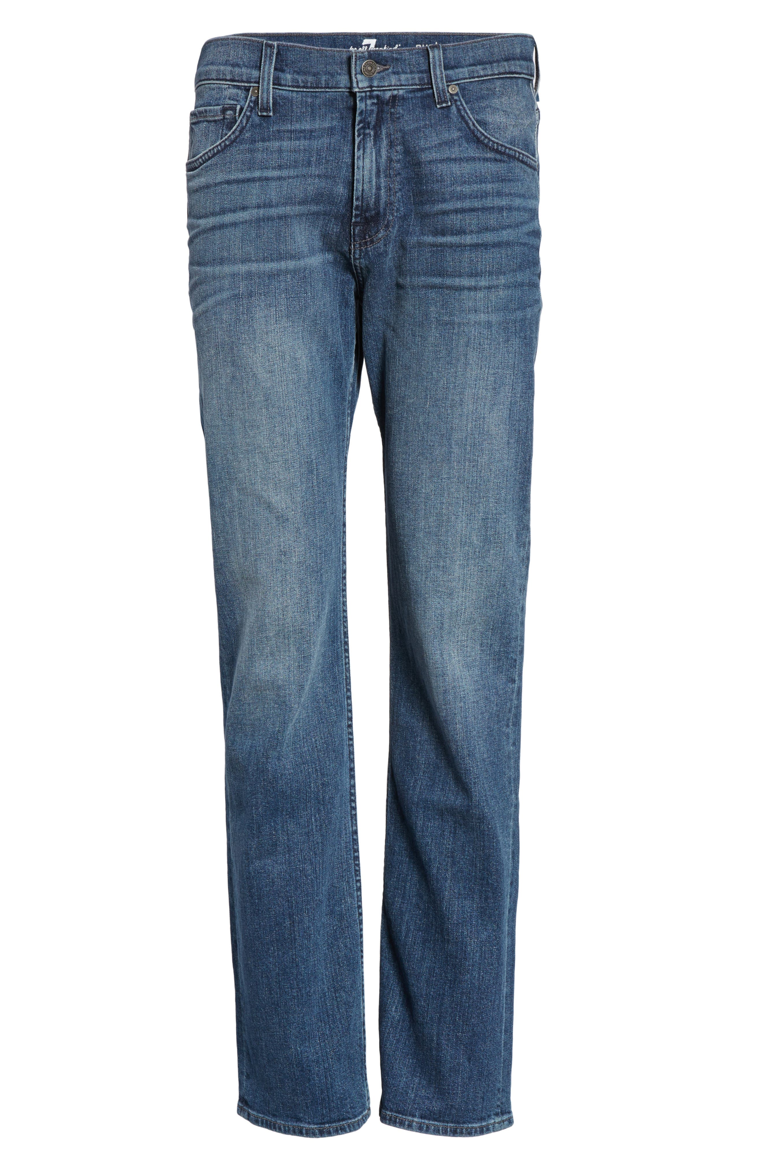 Alternate Image 6  - 7 For All Mankind® Austyn Relaxed Fit Jeans (Townsend)