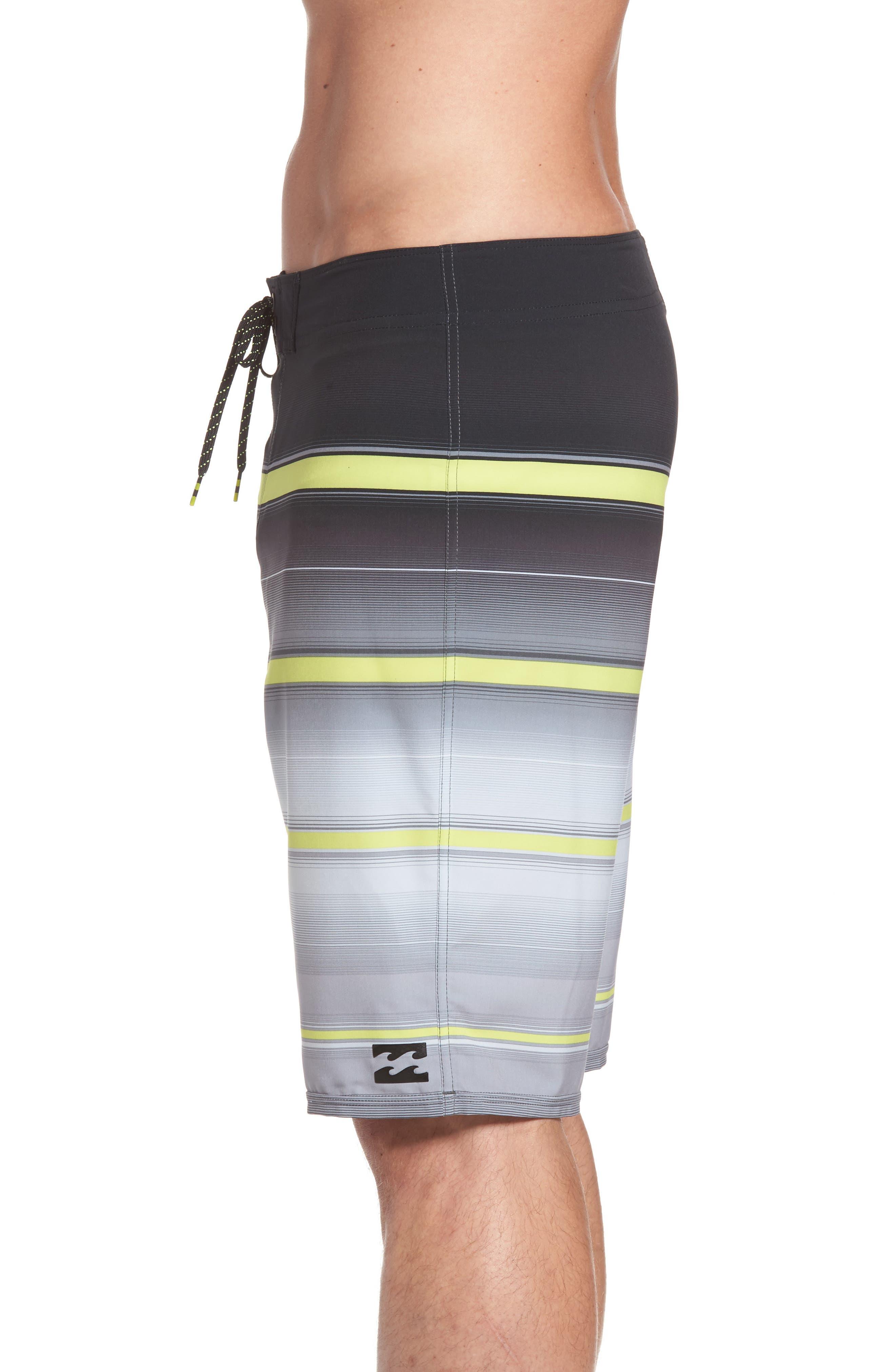 Alternate Image 3  - Billabong All Day X Stripe Board Shorts (Regular & Big)
