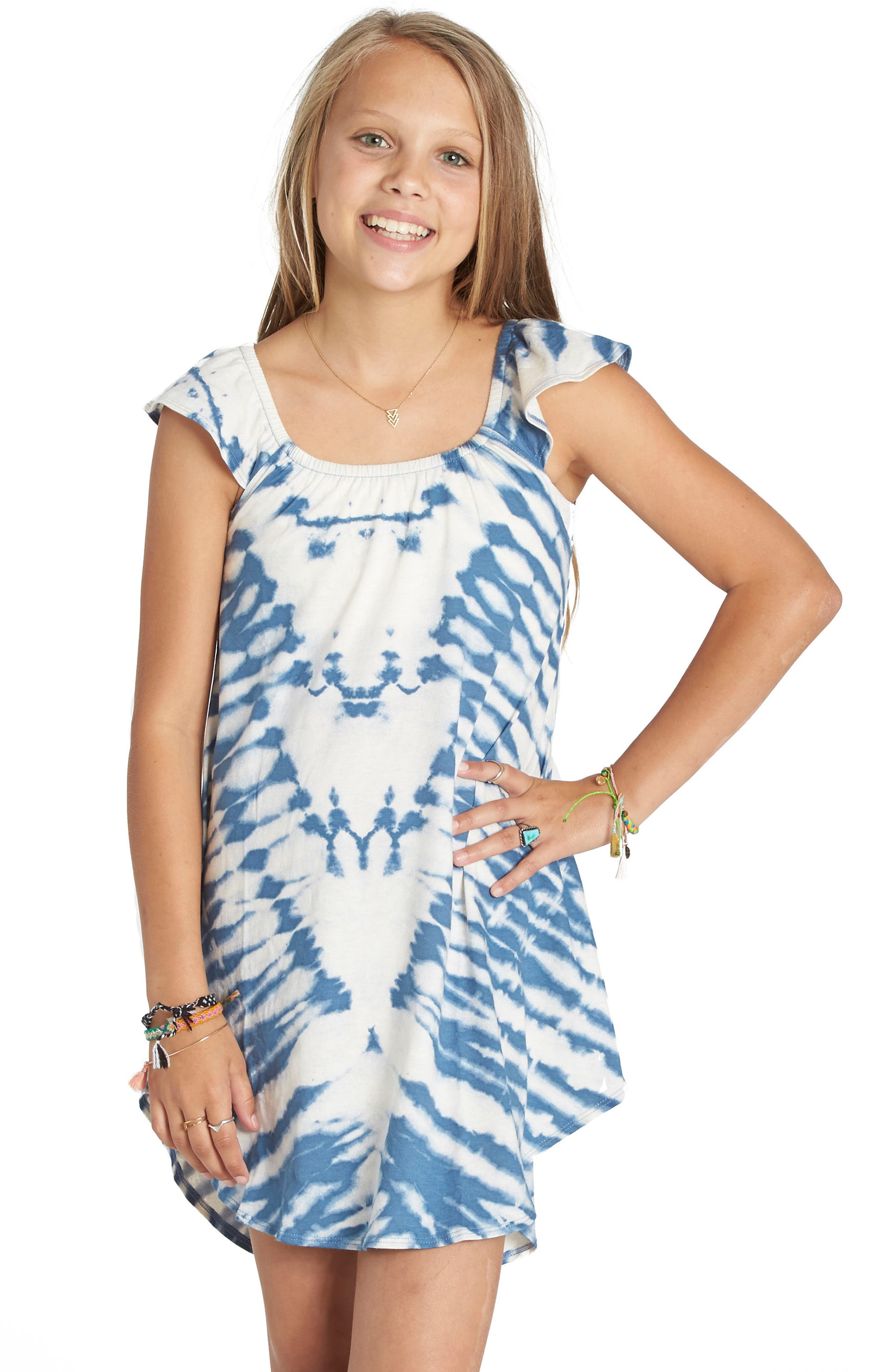 Billabong No Bad Vibes Tie Dye Dress