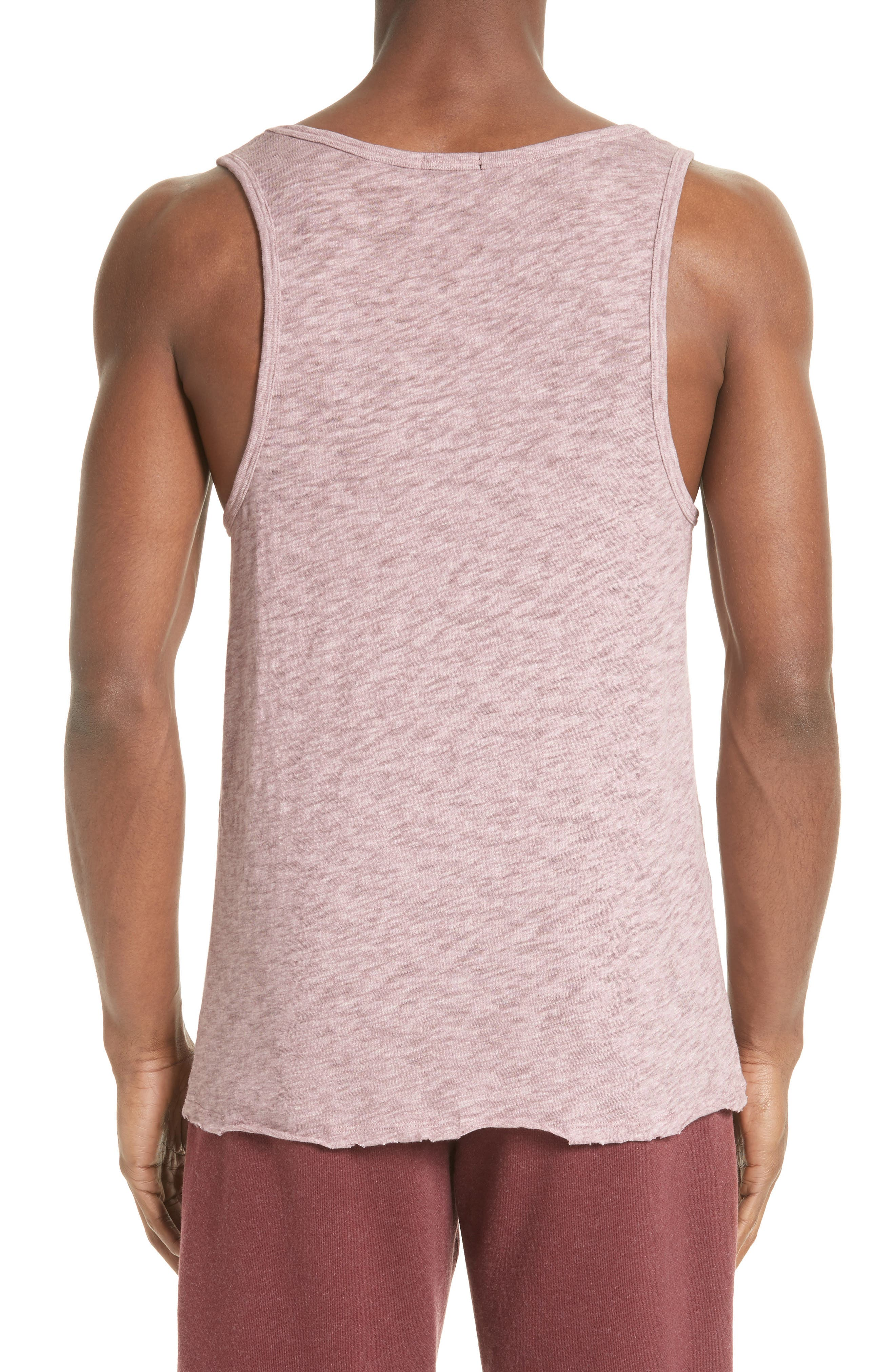 Slub Jersey Tank,                             Alternate thumbnail 2, color,                             Purplestone