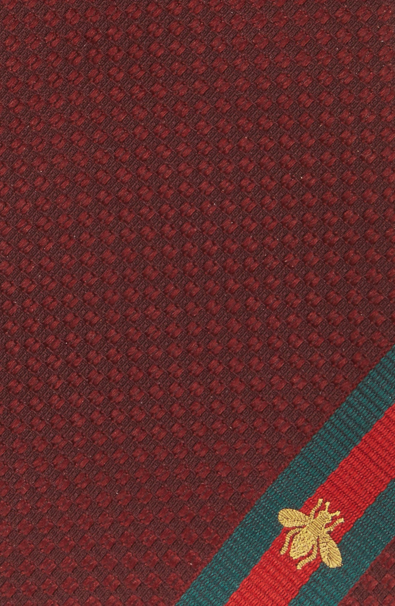 Silk Tie,                             Alternate thumbnail 2, color,                             Red