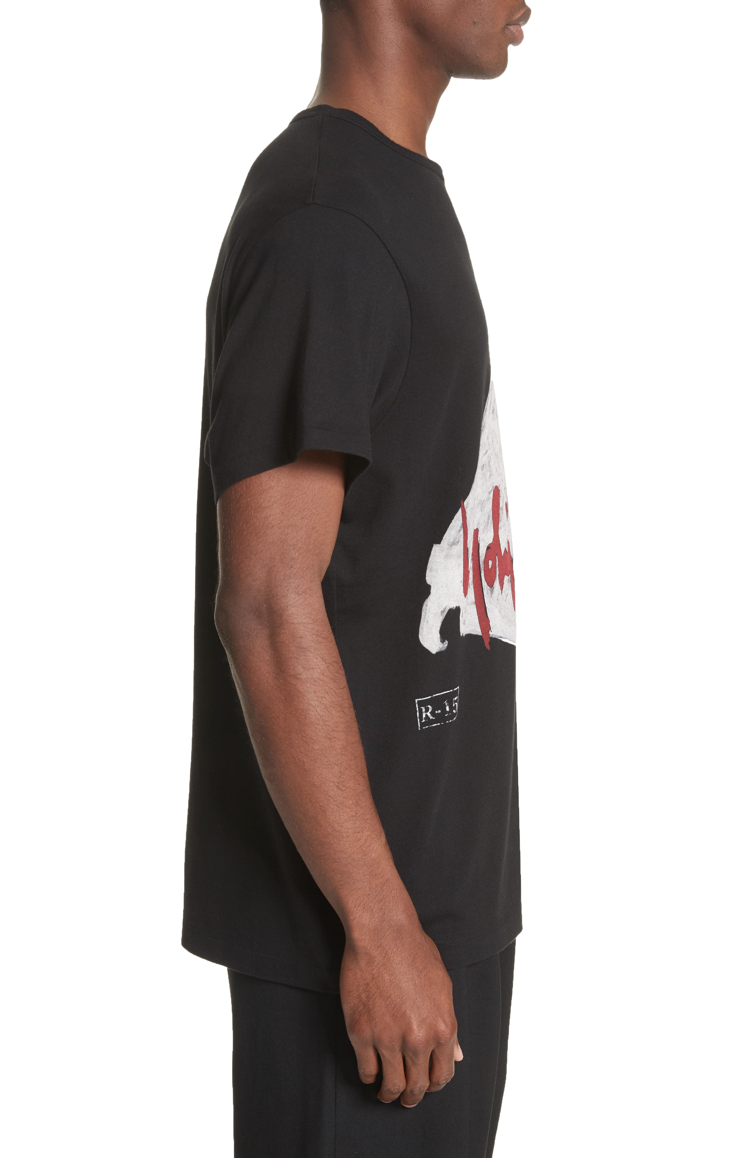 Alternate Image 3  - Yohji Yamamoto Samurai Graphic T-Shirt