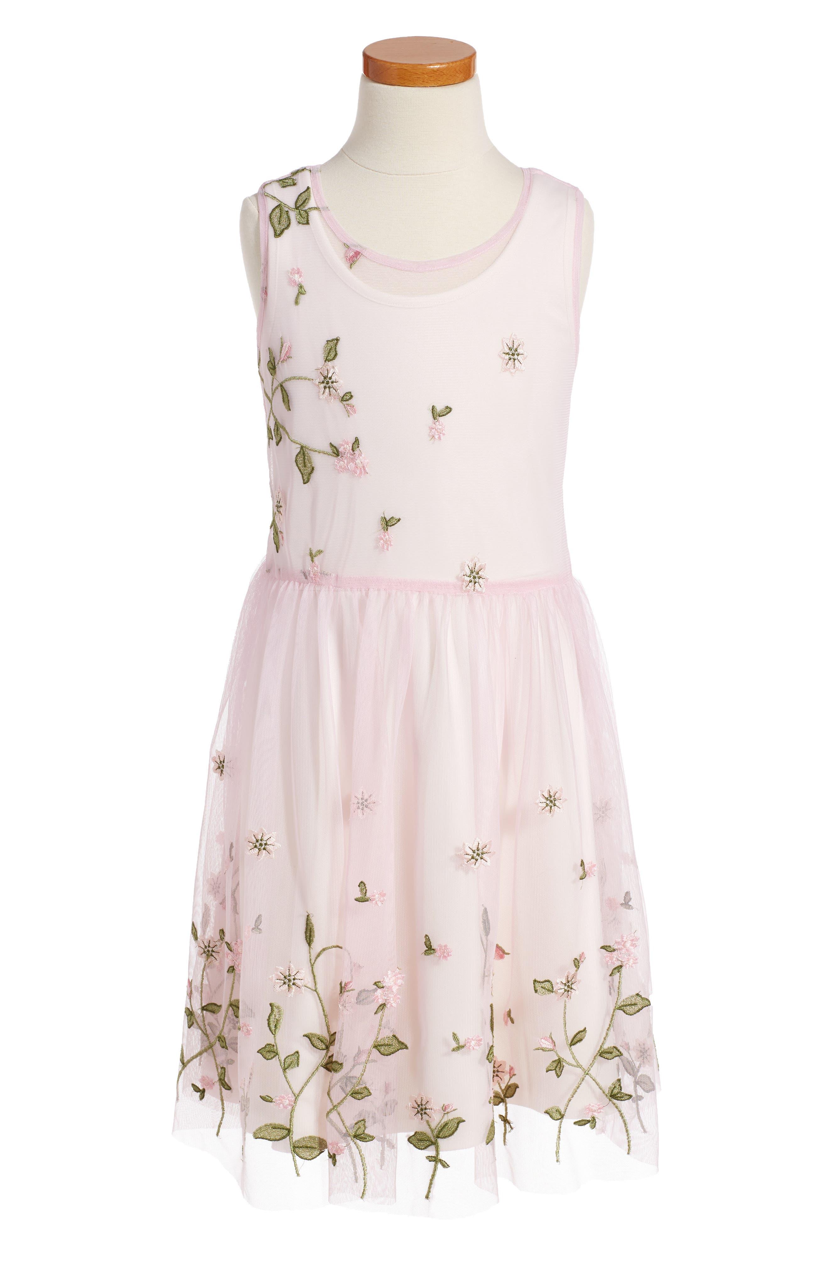 FRAIS Floral Sleeveless Dress