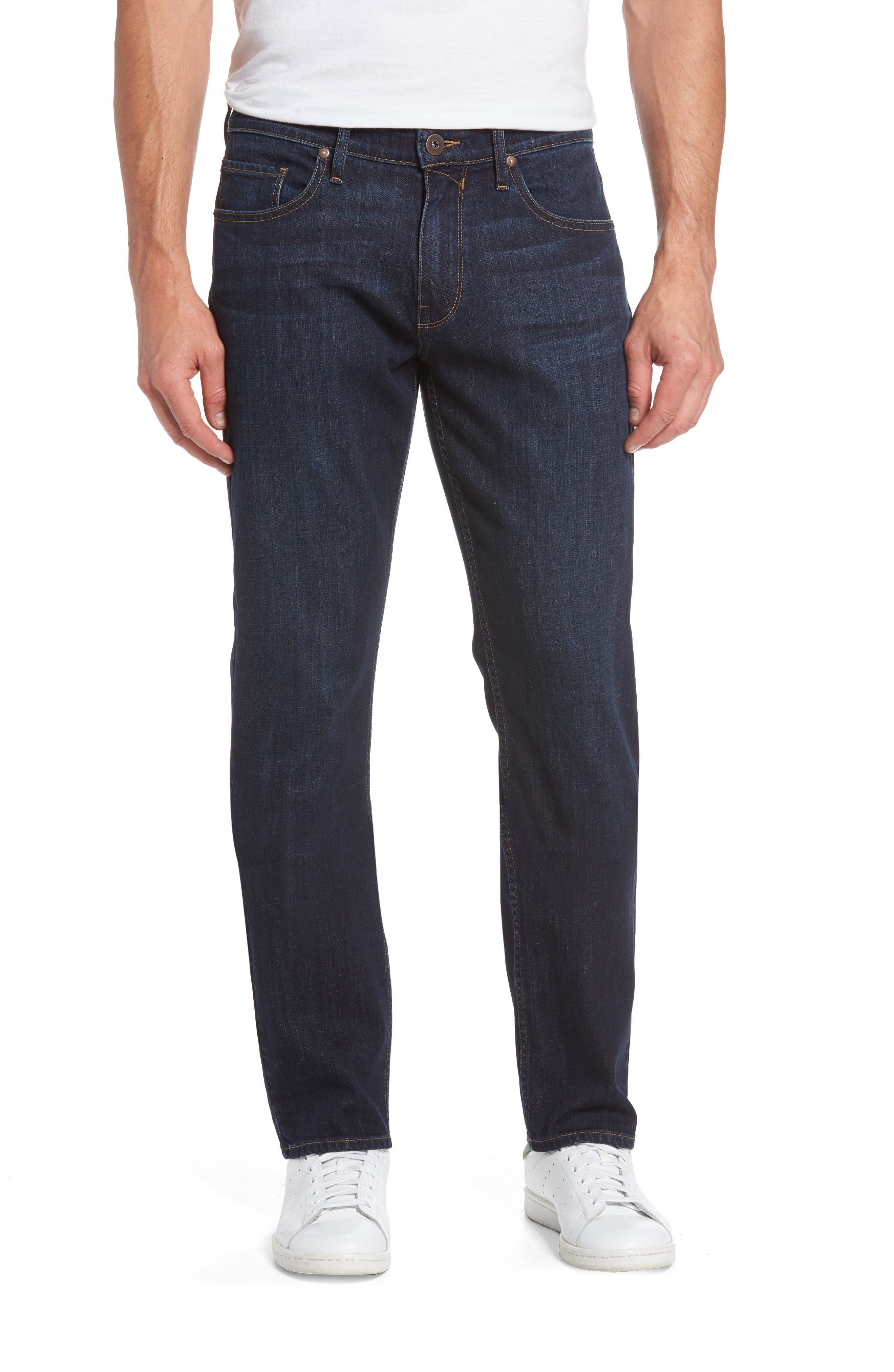 PAIGE Federal Slim Straight Fit Jeans (Ralston)