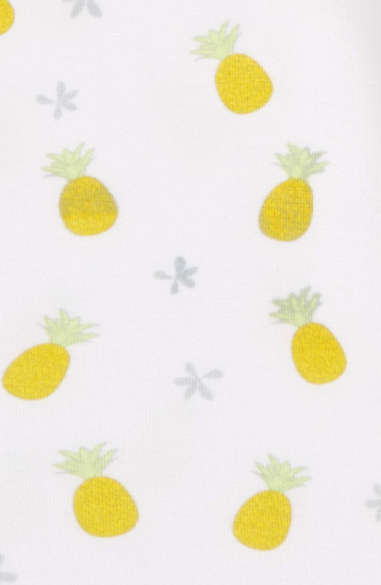 Pineapple Bodysuit,                             Alternate thumbnail 2, color,                             Yellow