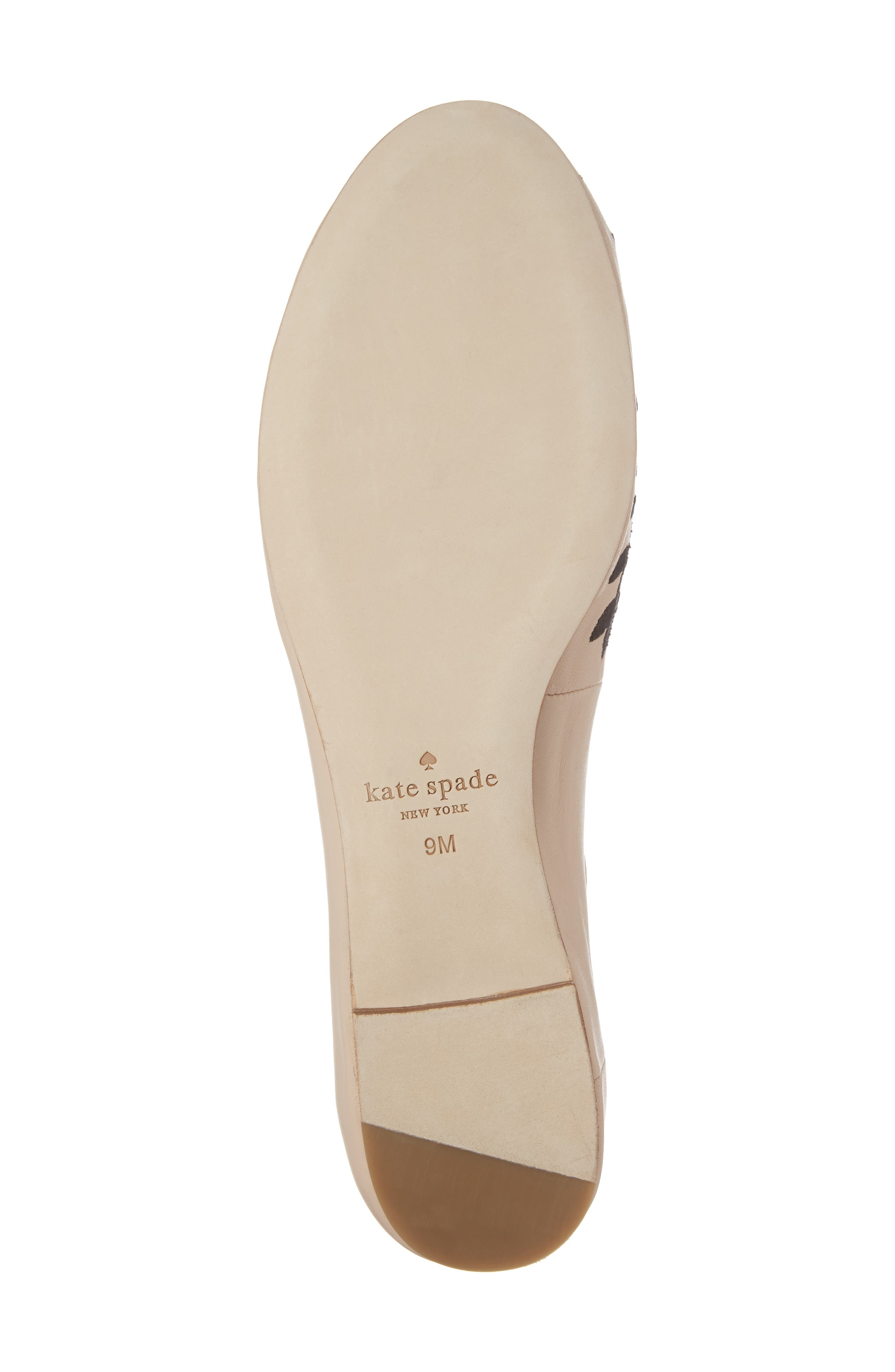 waren embroidered flat,                             Alternate thumbnail 6, color,                             Sand Nappa