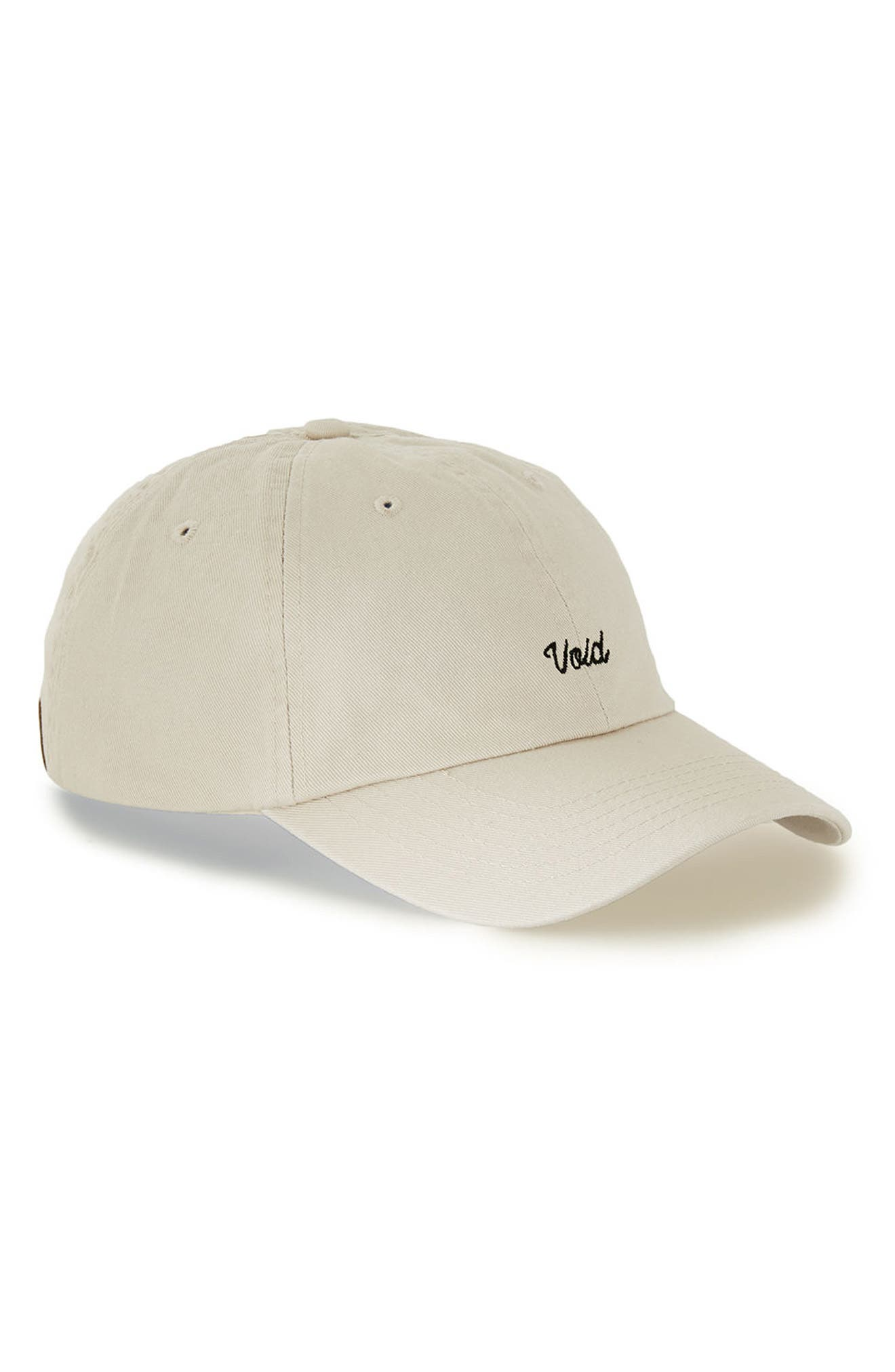 Topman Embroidered Void Dad Ball Cap
