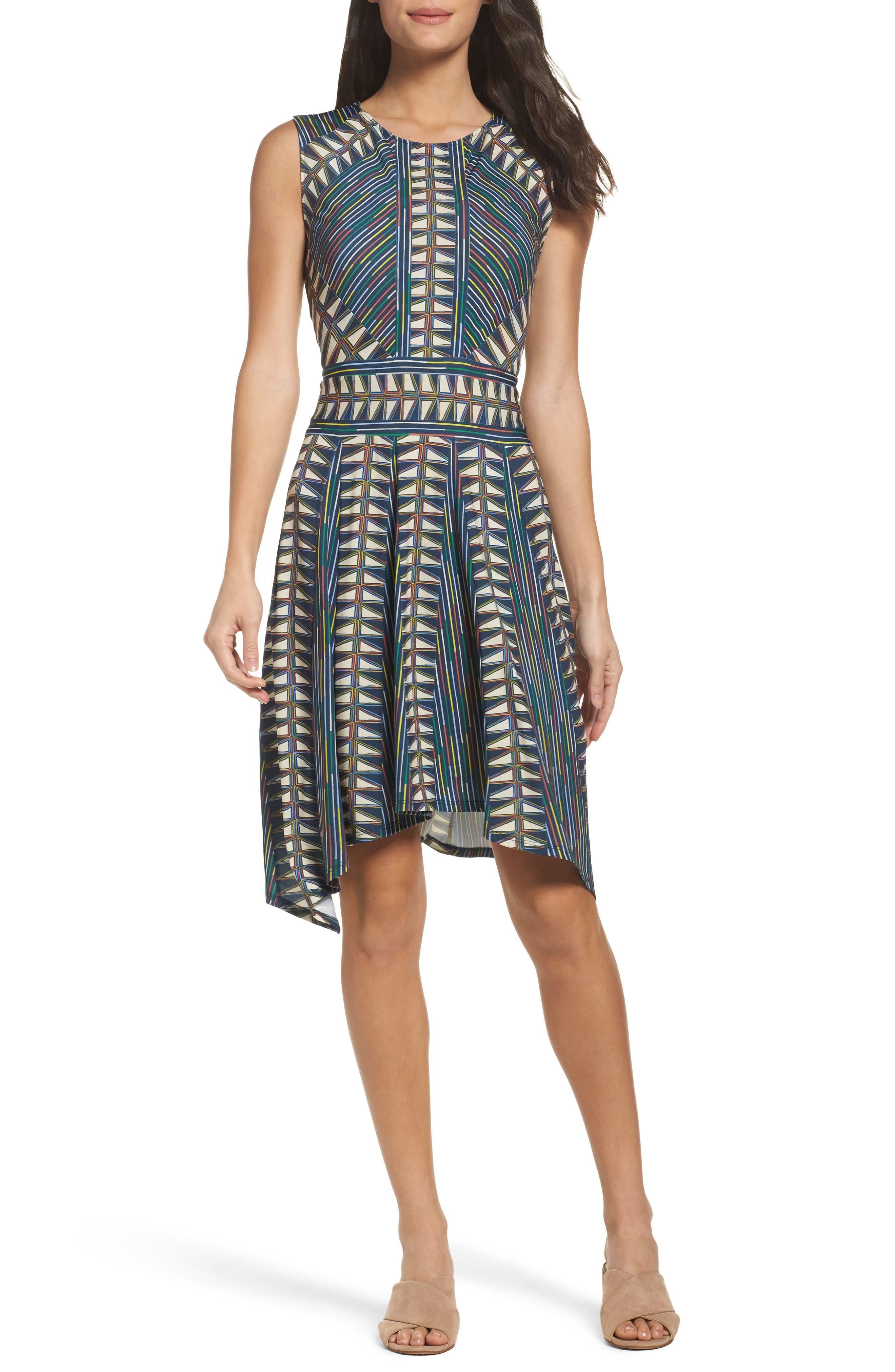 BCBGMAXAZRIA City Fit & Flare Dress