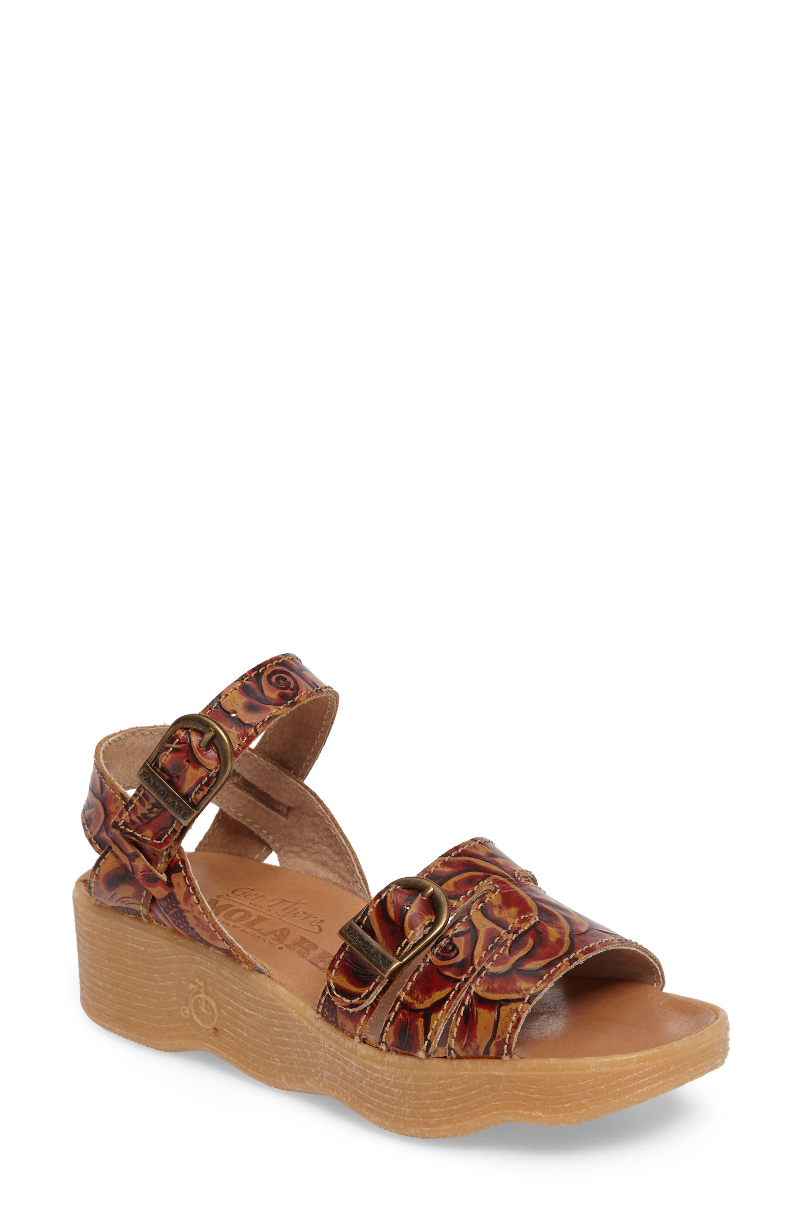 Famolare Honeybuckle Wedge Sandal (Women)