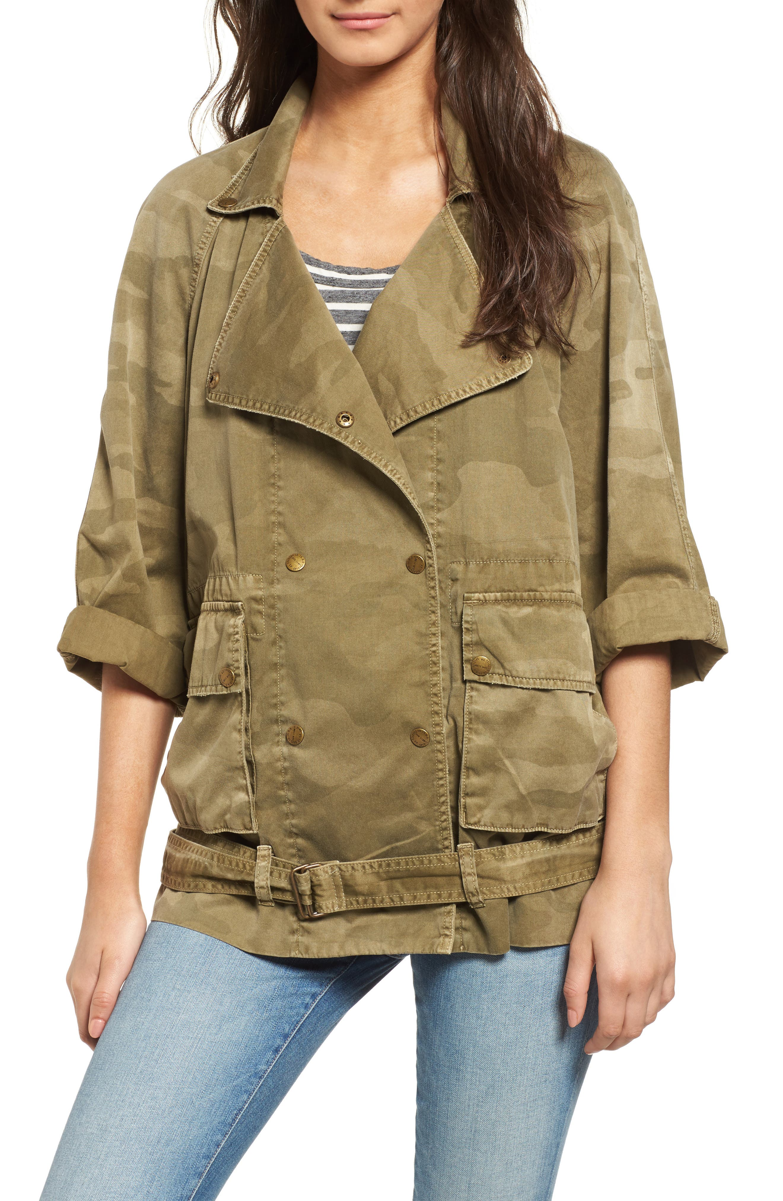 Current/Elliott The Infantry Military Jacket