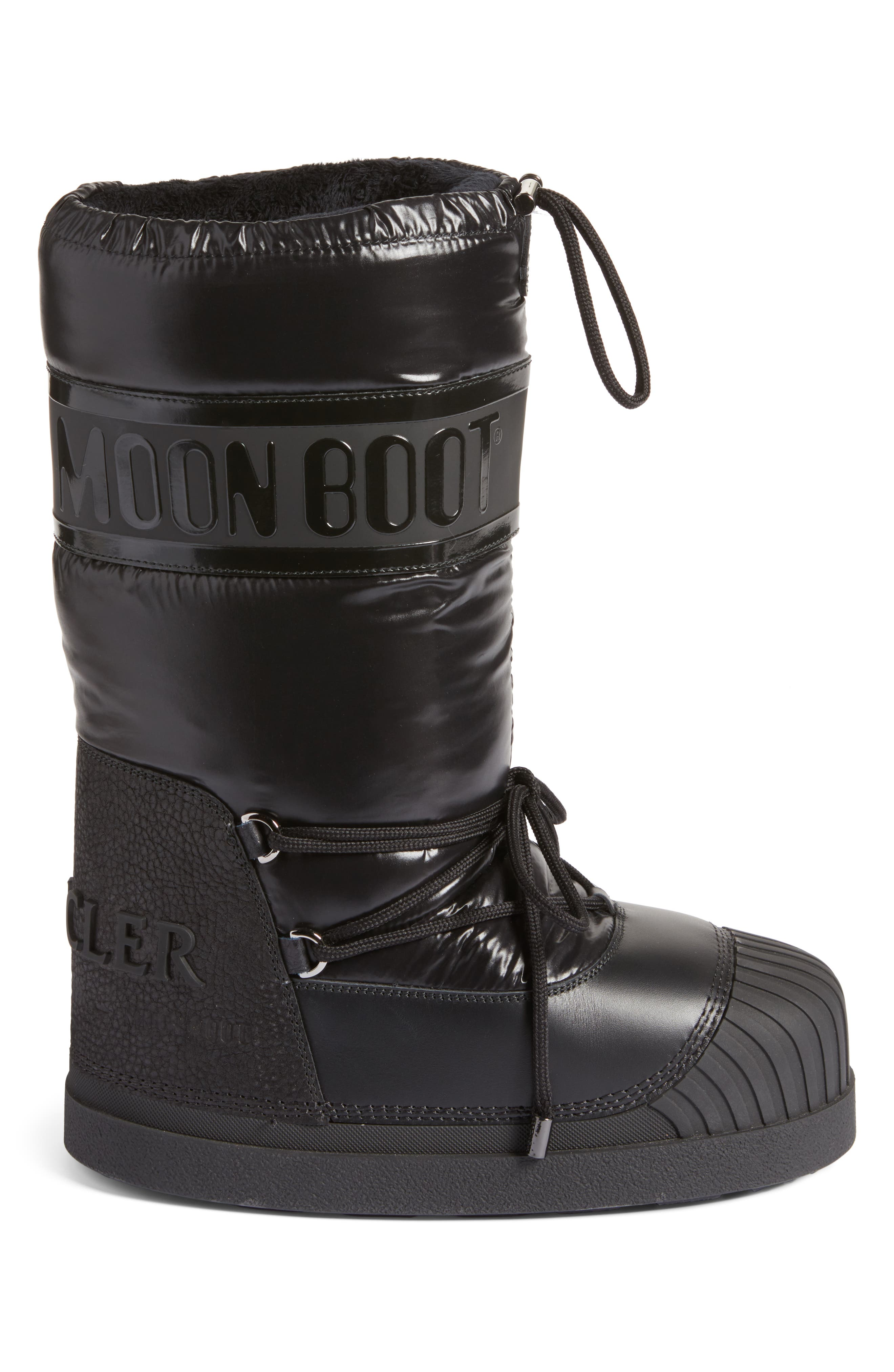 Venus Moon Boot,                             Alternate thumbnail 3, color,                             Black