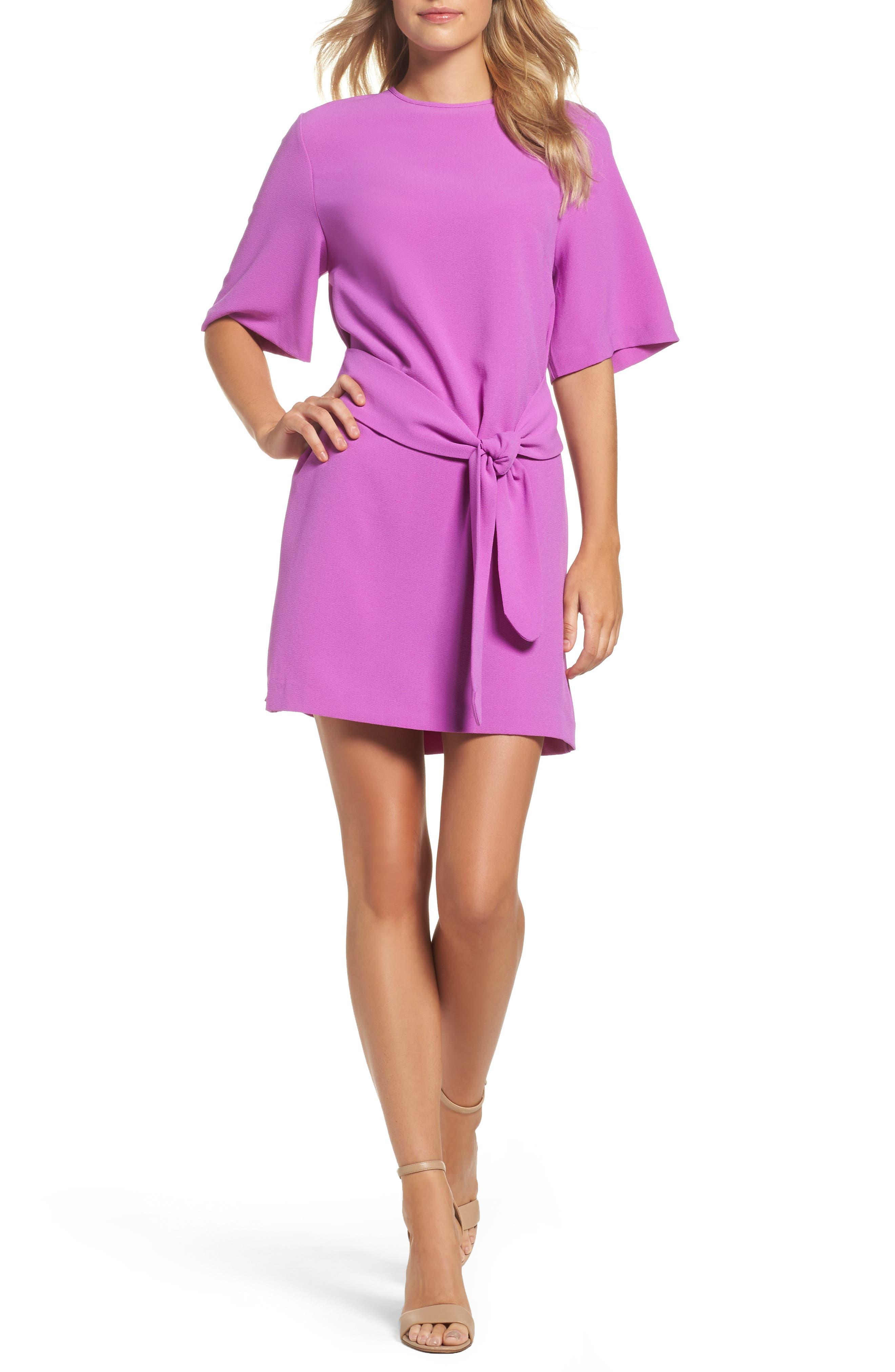 Dara Shift Dress,                             Main thumbnail 1, color,                             Violet
