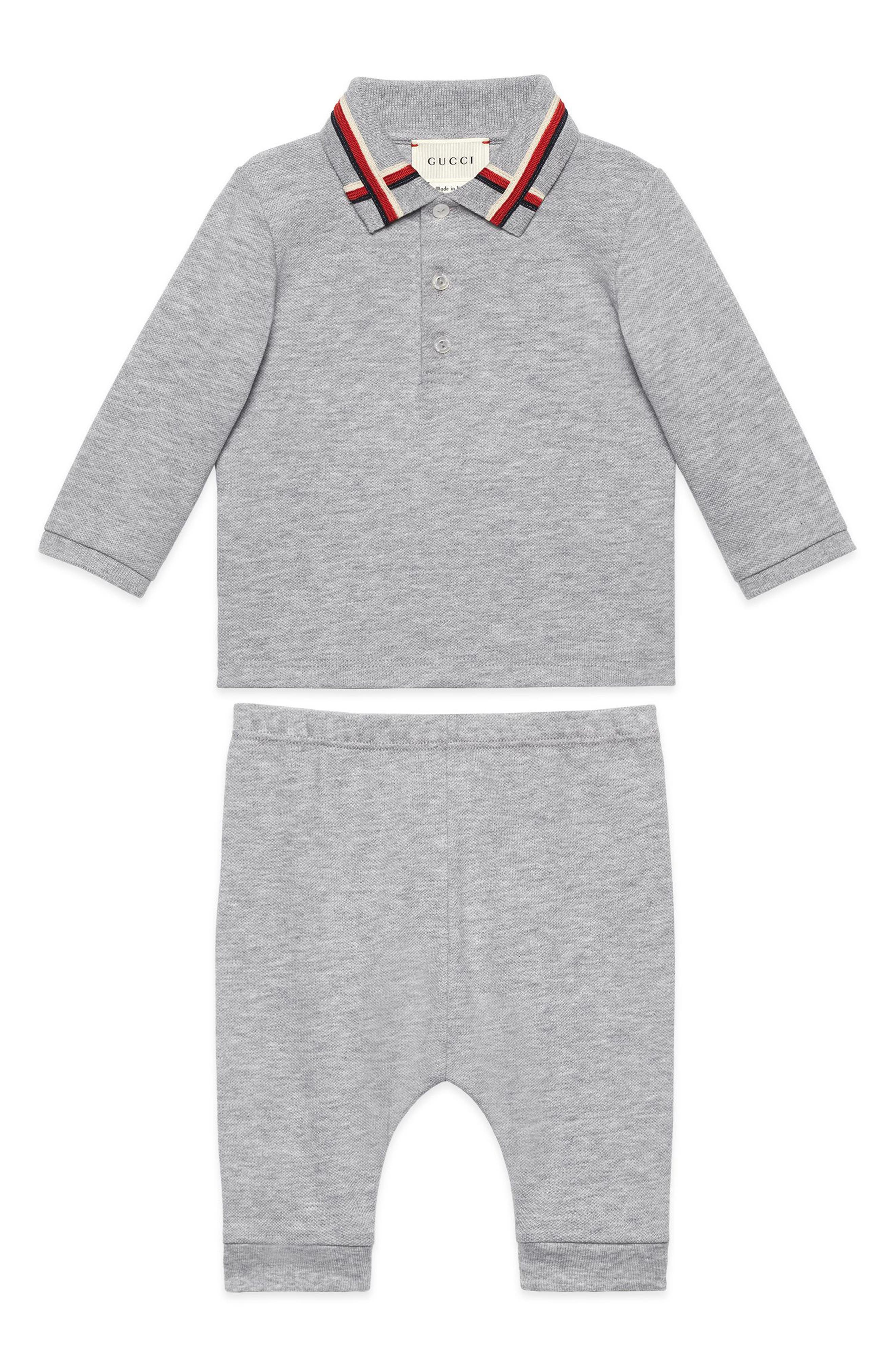 GUCCI Polo & Pants Set