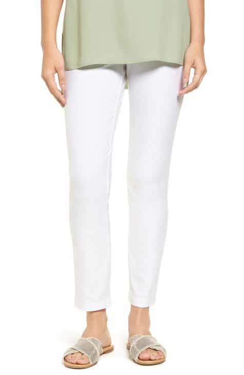 49d7c4ee849 Eileen Fisher Stretch Crepe Slim Ankle Pants