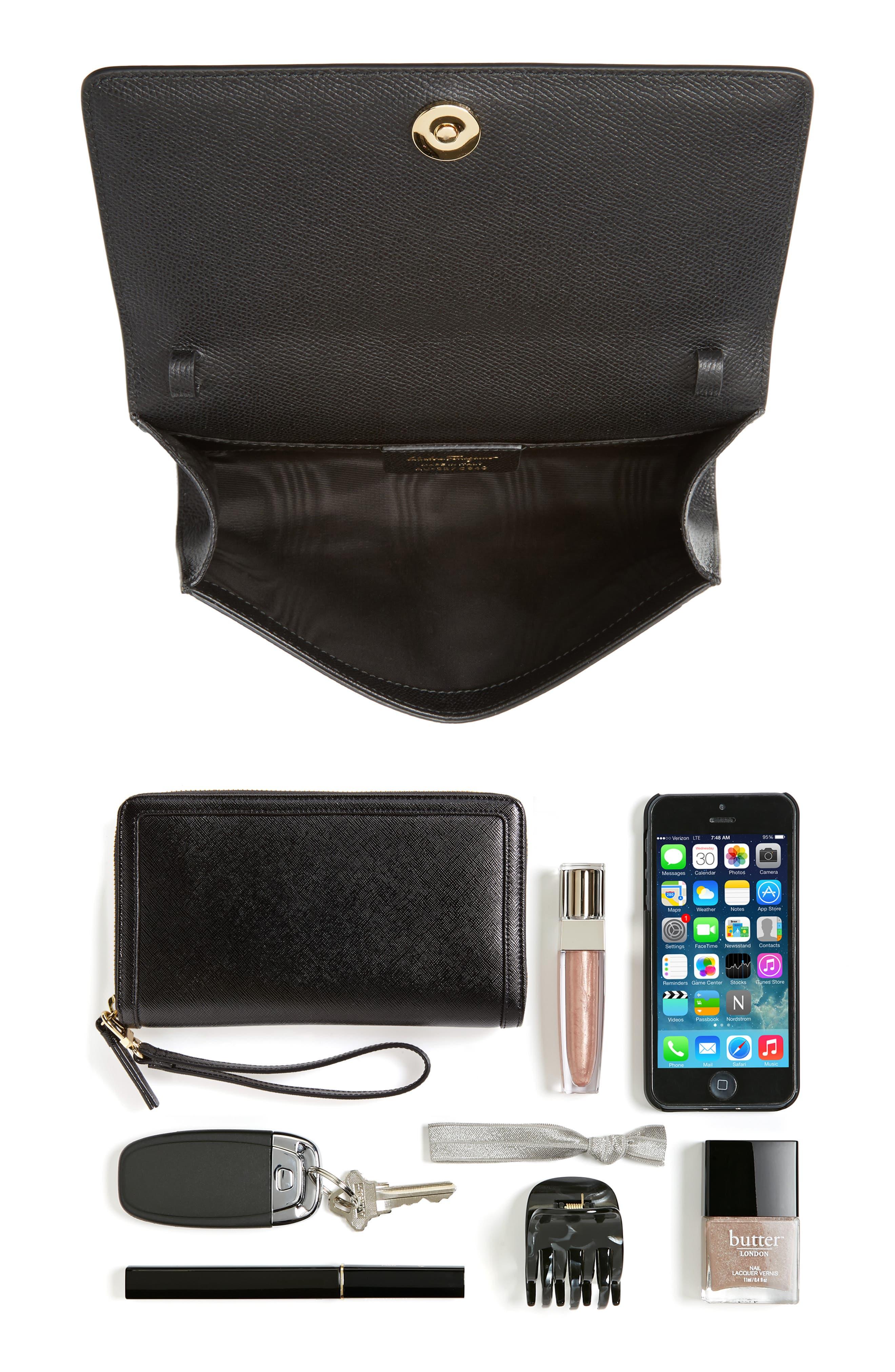 Alternate Image 7  - Salvatore Ferragamo Mini Vara Leather Crossbody Bag