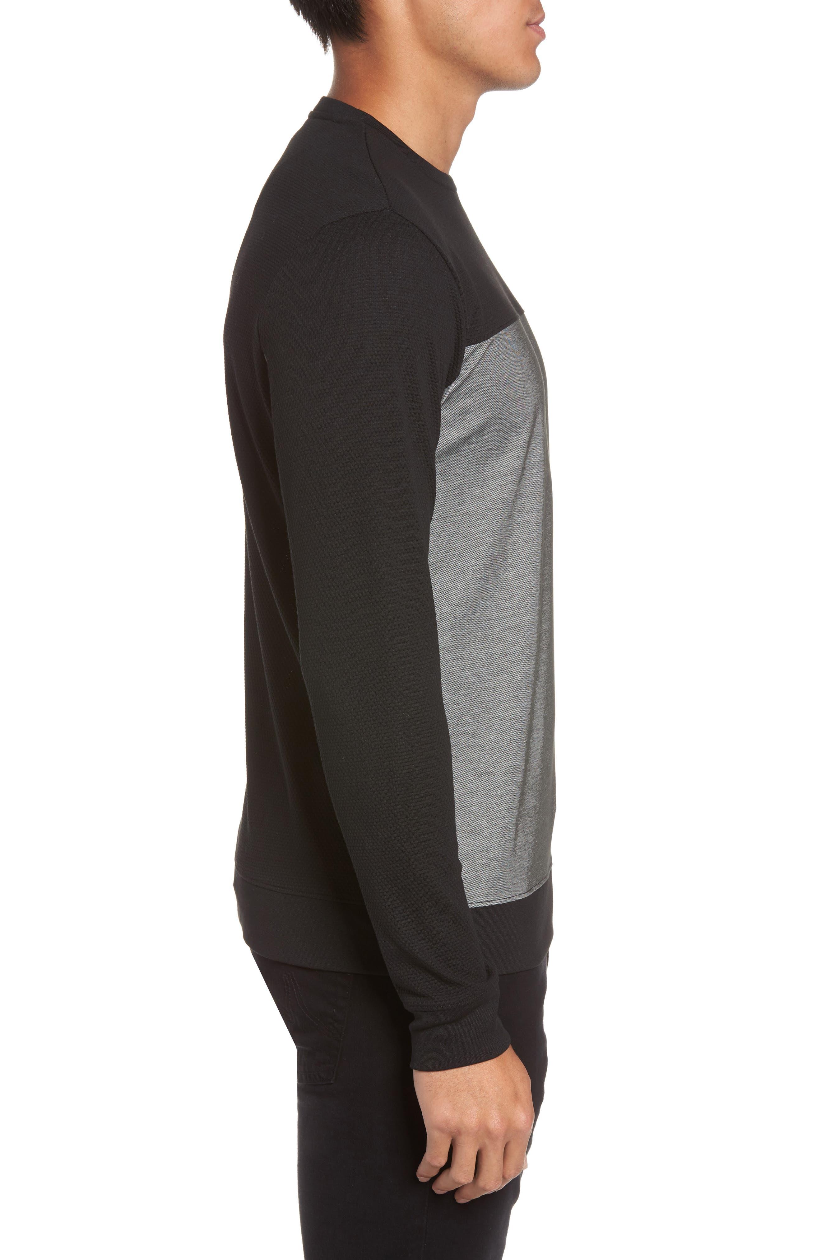 Alternate Image 3  - Vince Colorblock Slim Fit Crewneck Sweater