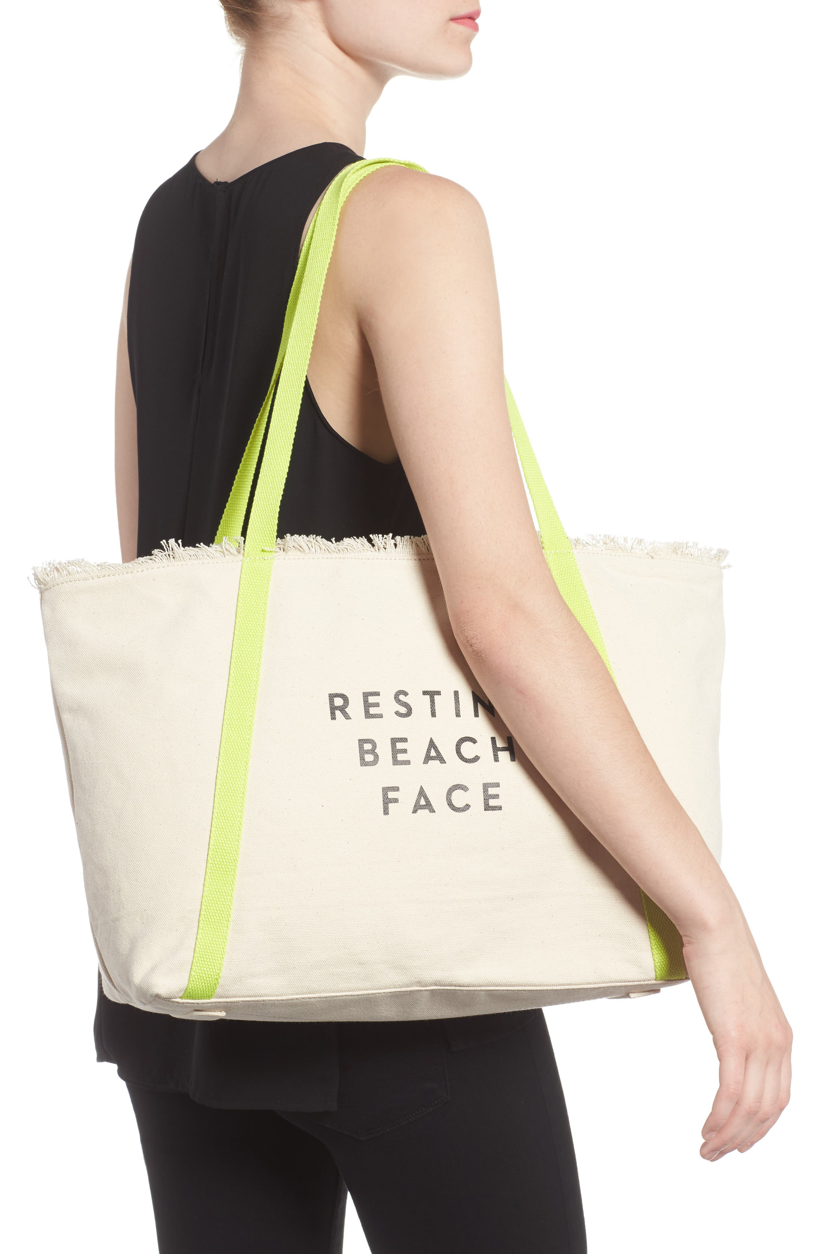 Alternate Image 2  - Milly Canvas Tote