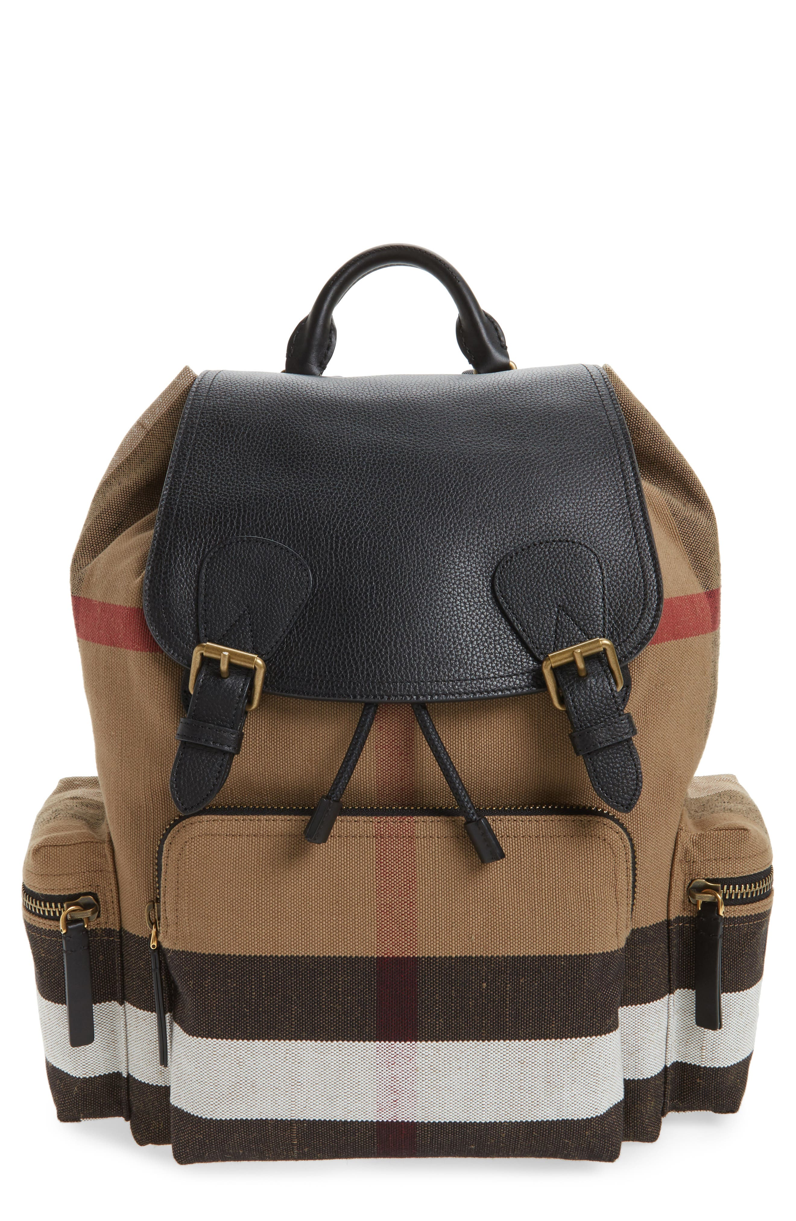 Rucksack Backpack,                         Main,                         color, Classic Check