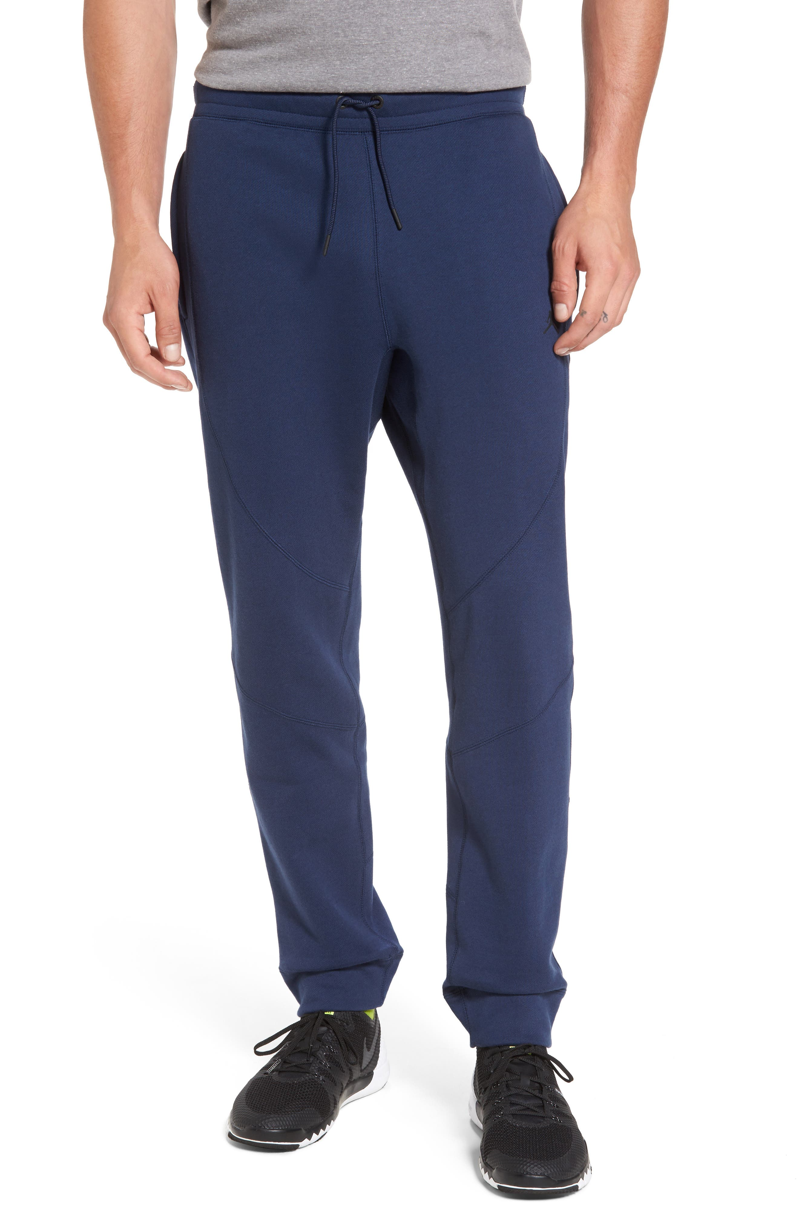 Alternate Image 1 Selected - Nike Jordan Wings Fleece Pants