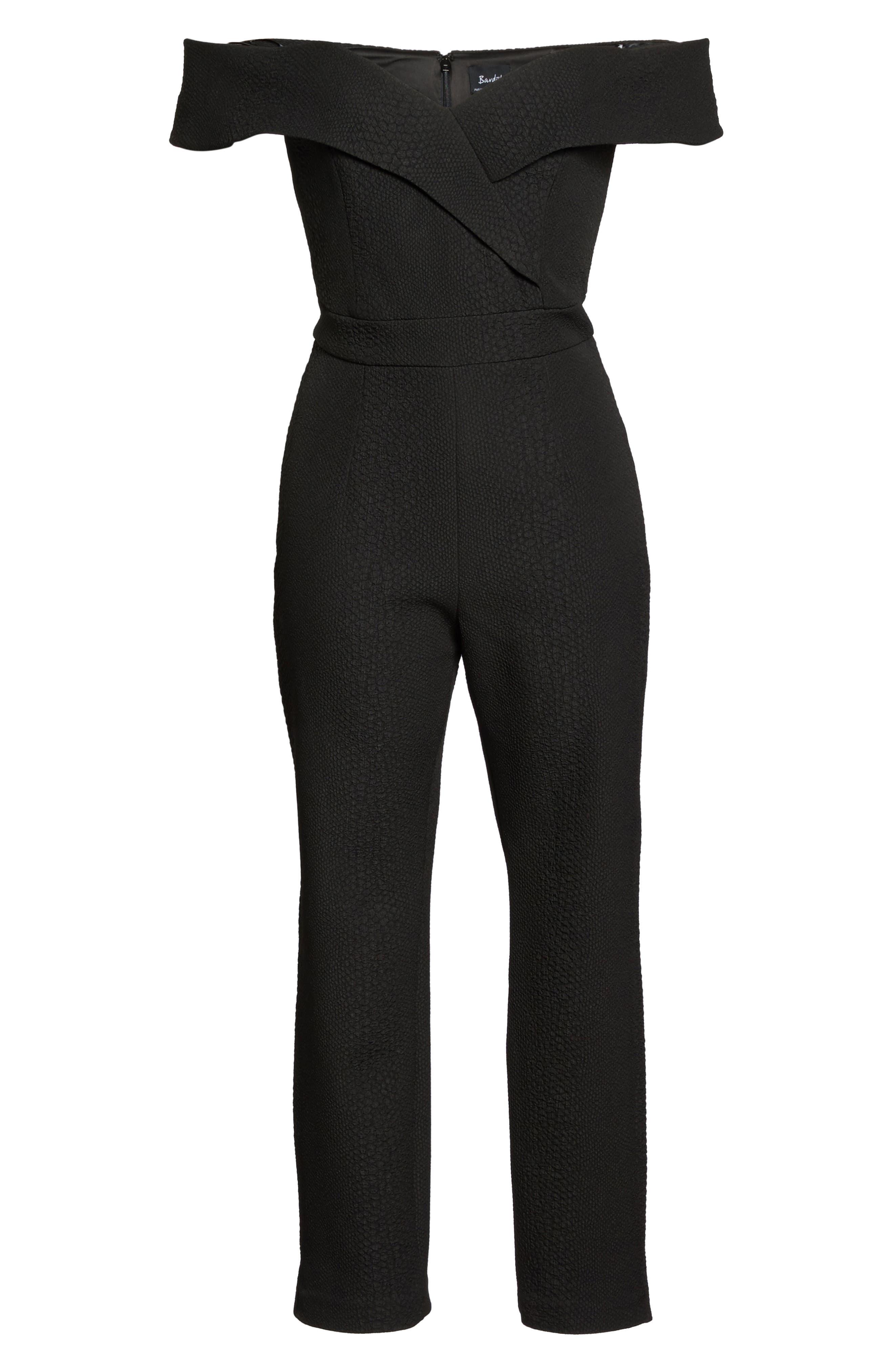 Alternate Image 6  - Bardot Bella Crop Jumpsuit