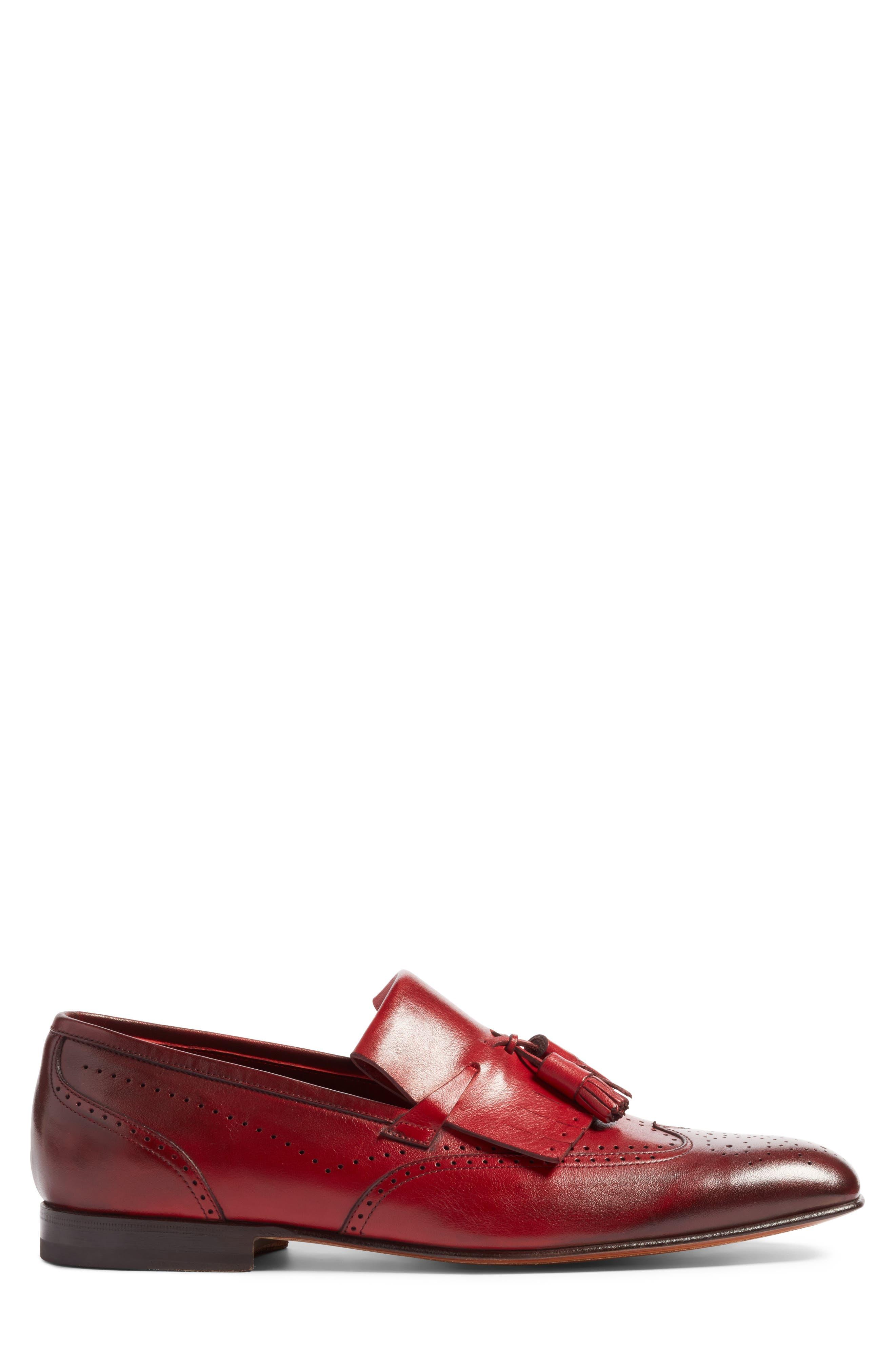 Alternate Image 3  - Santoni Floyd Tassel Wingtip Loafer (Men)