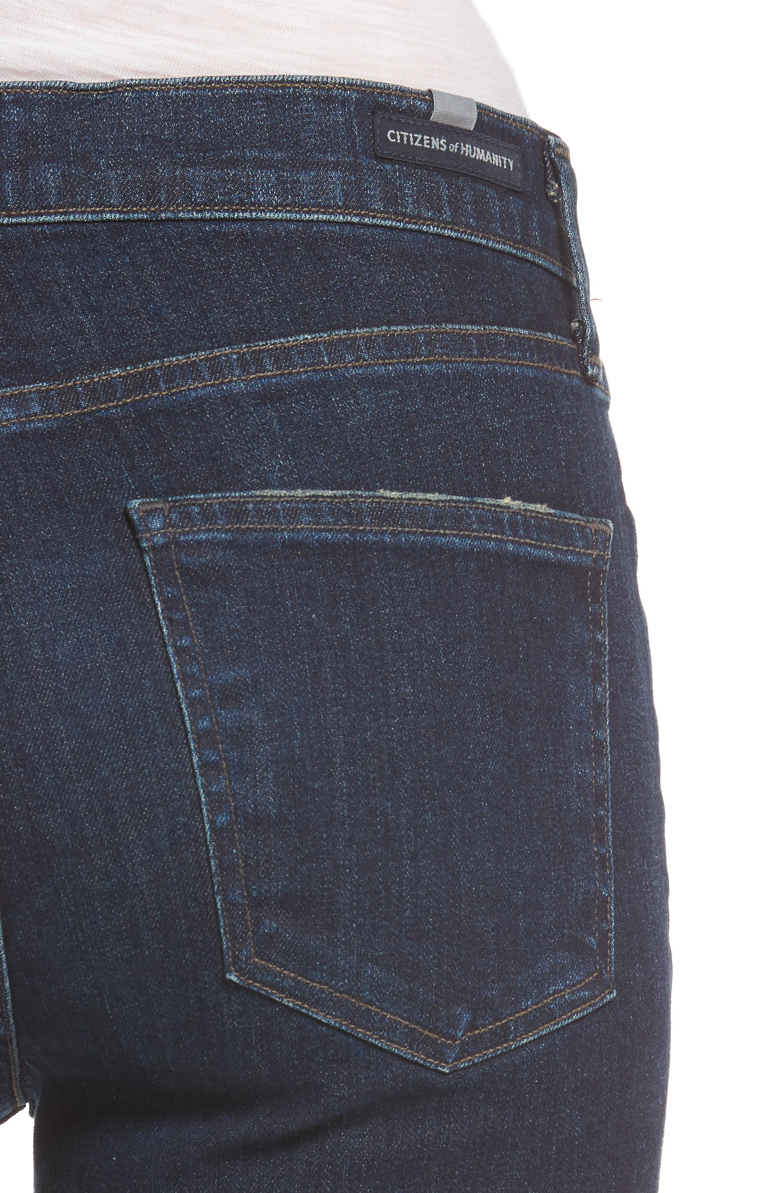 Alternate Image 4  - Citizens of Humanity Cara Ankle Cigarette Jeans (Maya)
