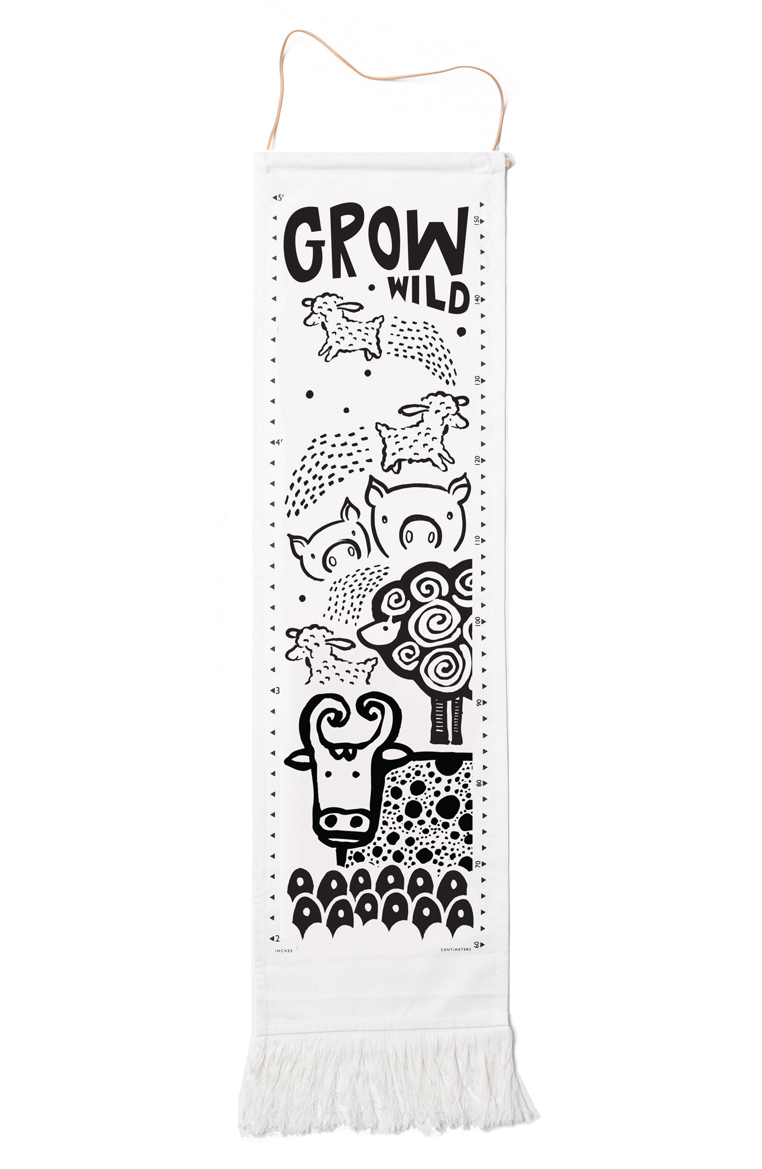 Main Image - Wee Gallery Woodland Animals Growth Chart