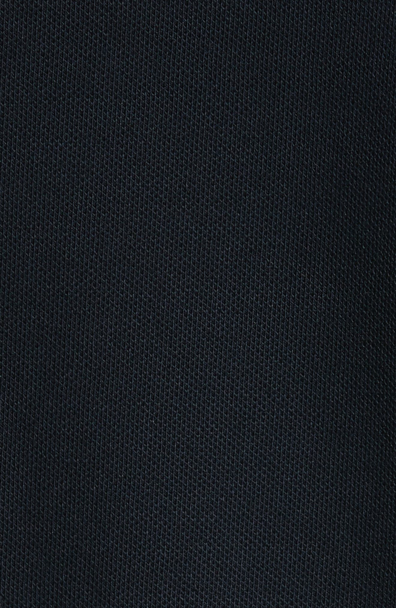 Alternate Image 5  - Armani Collezioni Ribbed V-Neck T-Shirt