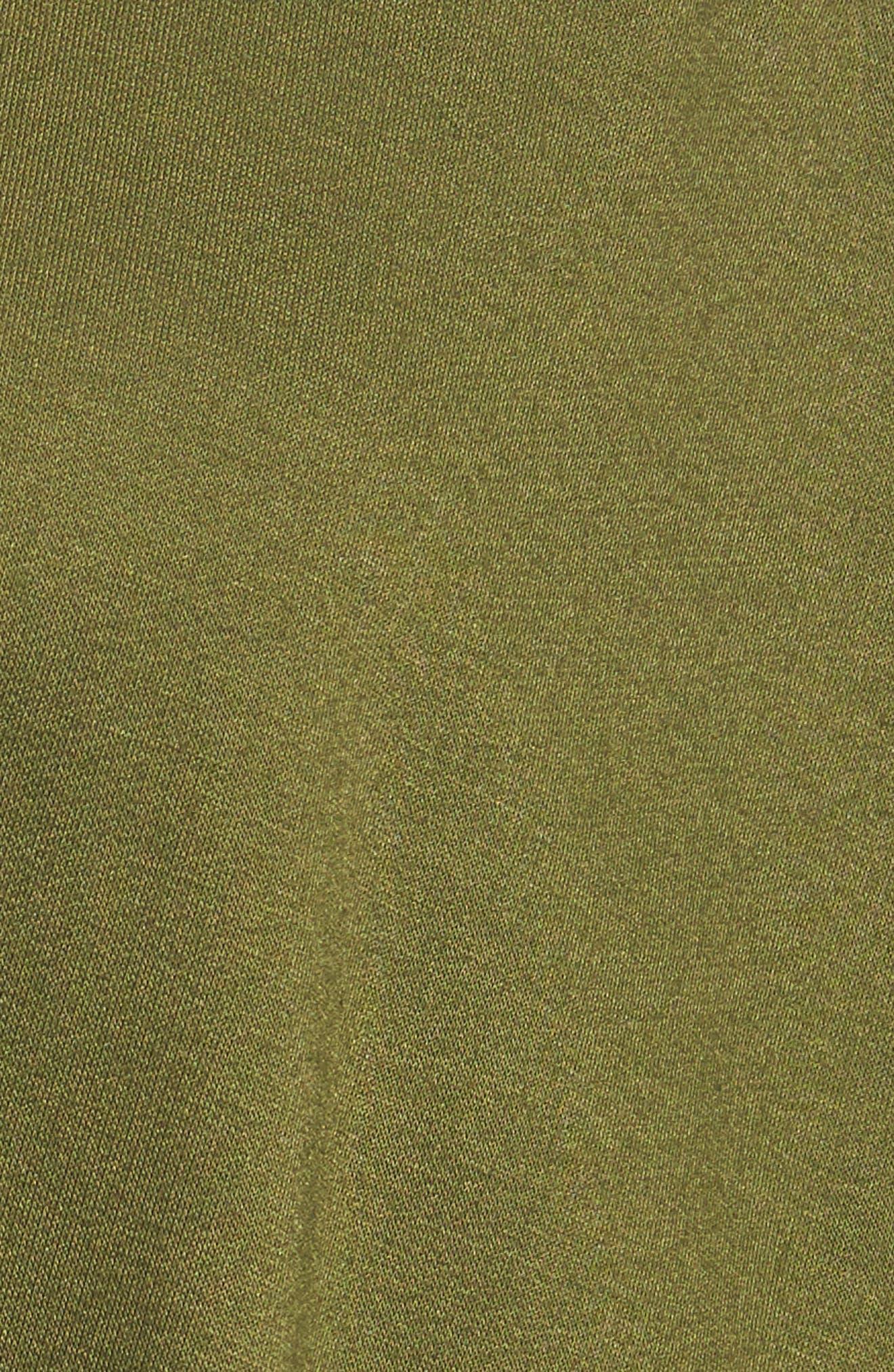 Alternate Image 5  - Caslon® Tie Front Sweatshirt (Regular & Petite)