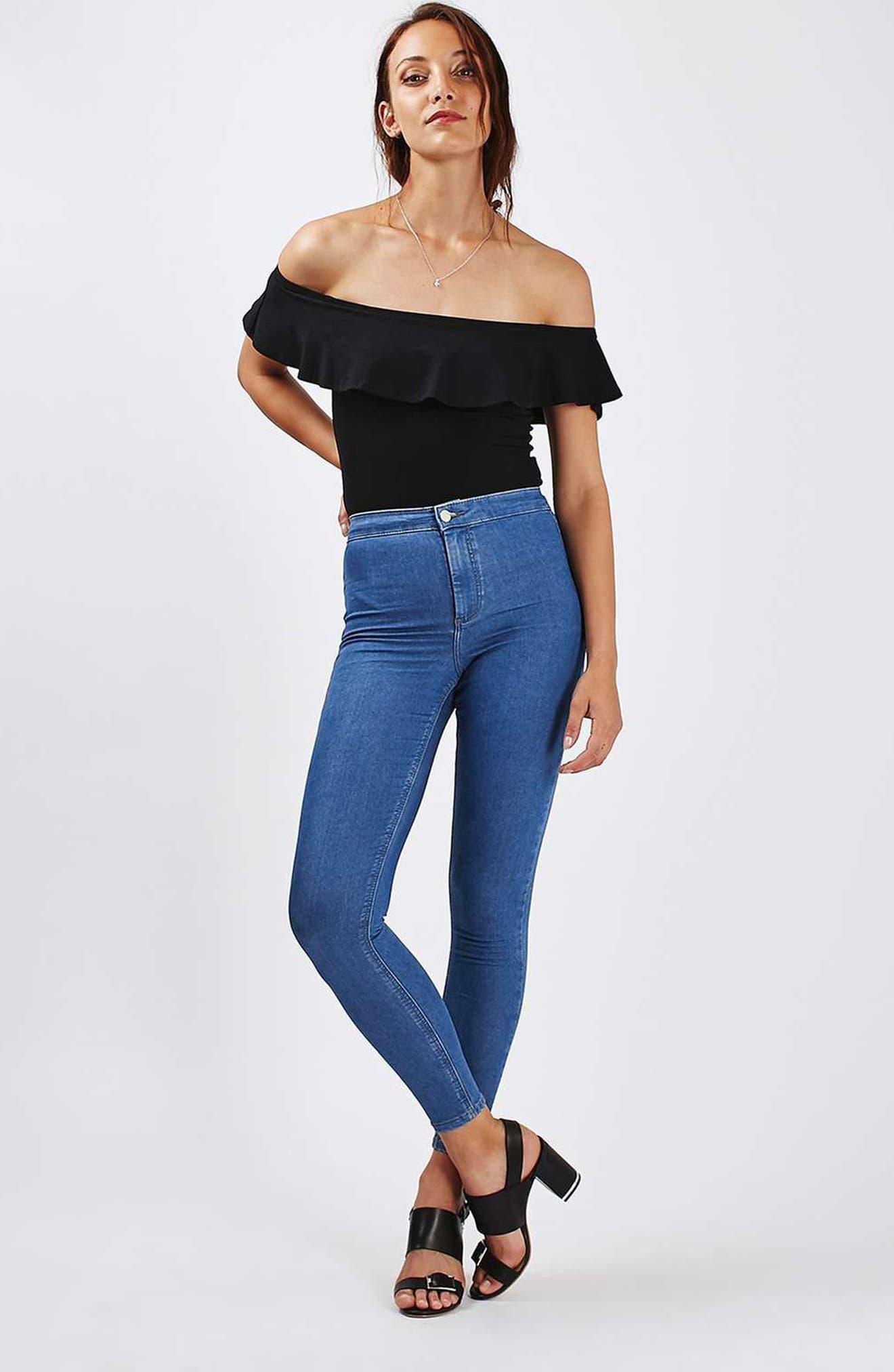 Alternate Image 2  - Topshop Joni Skinny Jeans (Tall)