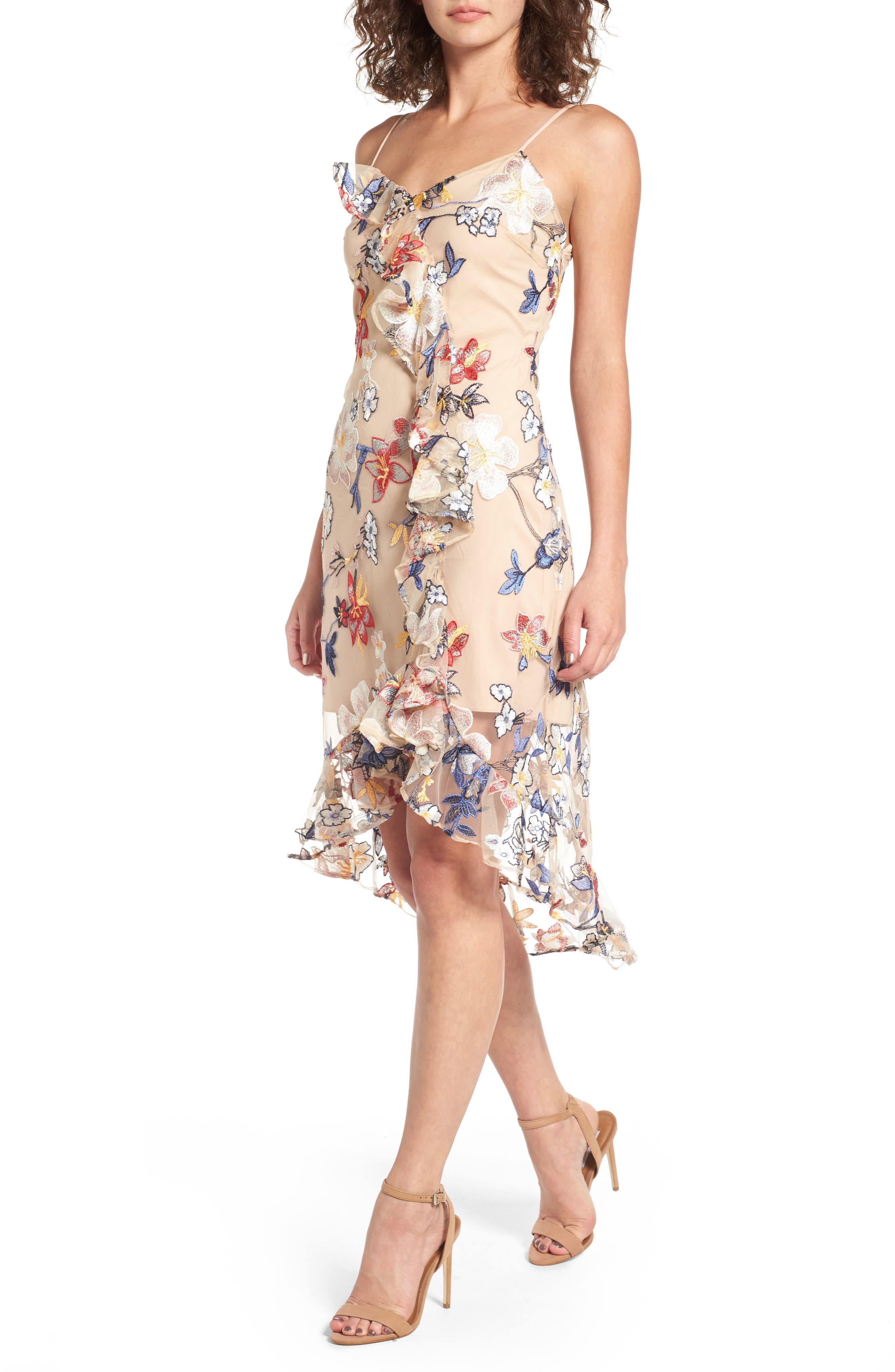 Main Image - devlin Allyson Embroidered Dress