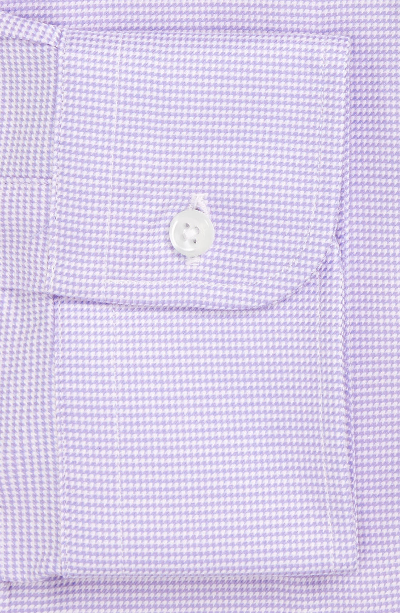 Alternate Image 3  - Nordstrom Men's Shop Classic Fit Microgrid Dress Shirt