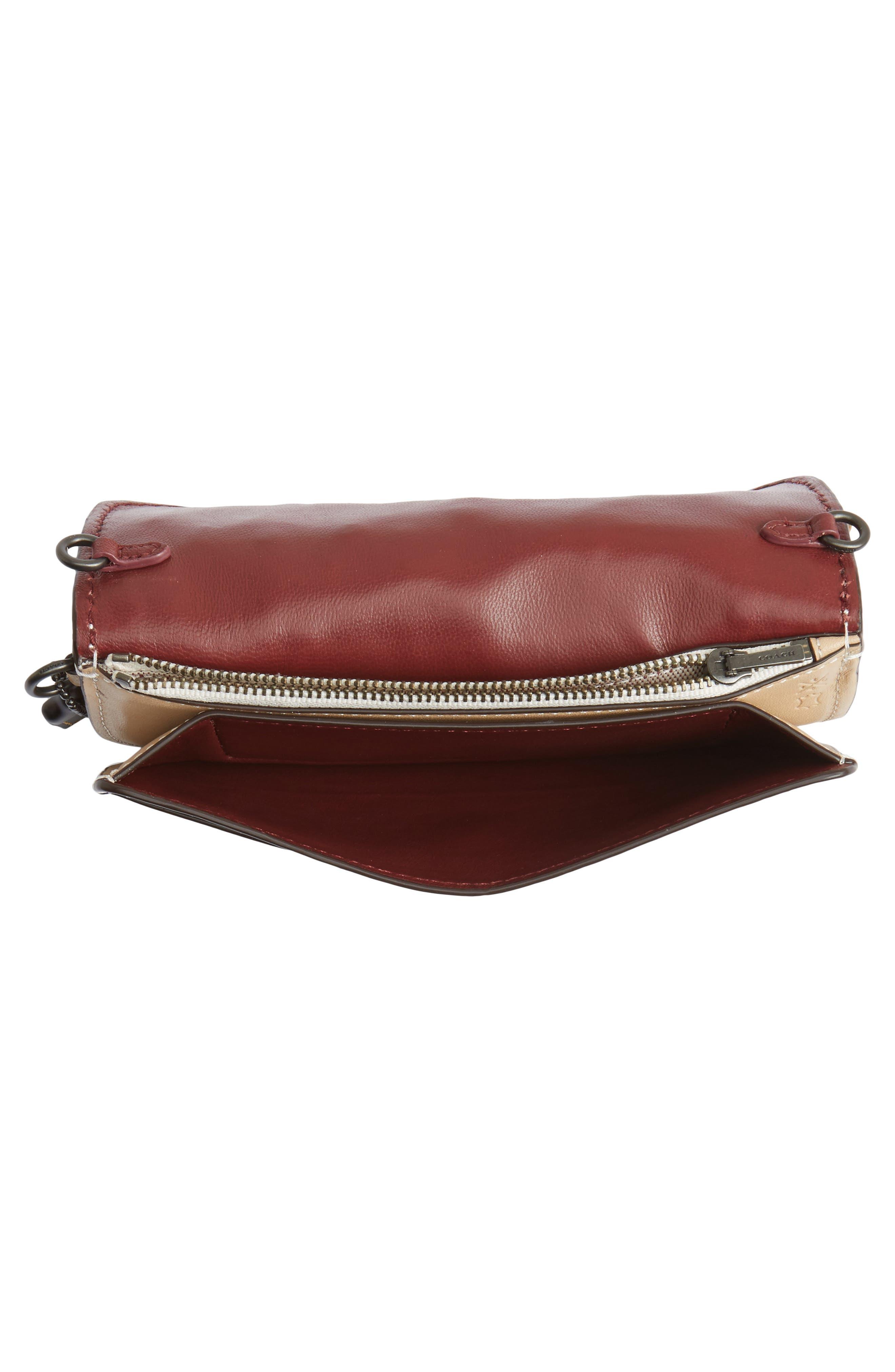 Alternate Image 5  - Coach 1941 Tea Rose Leather Clutch