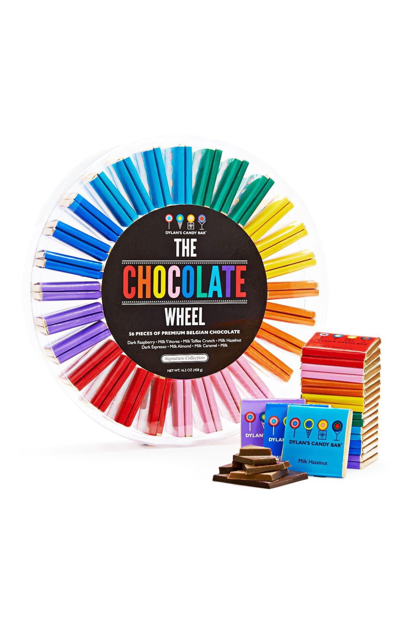Signature Chocolate Wheel,                             Main thumbnail 1, color,                             Blue Multi