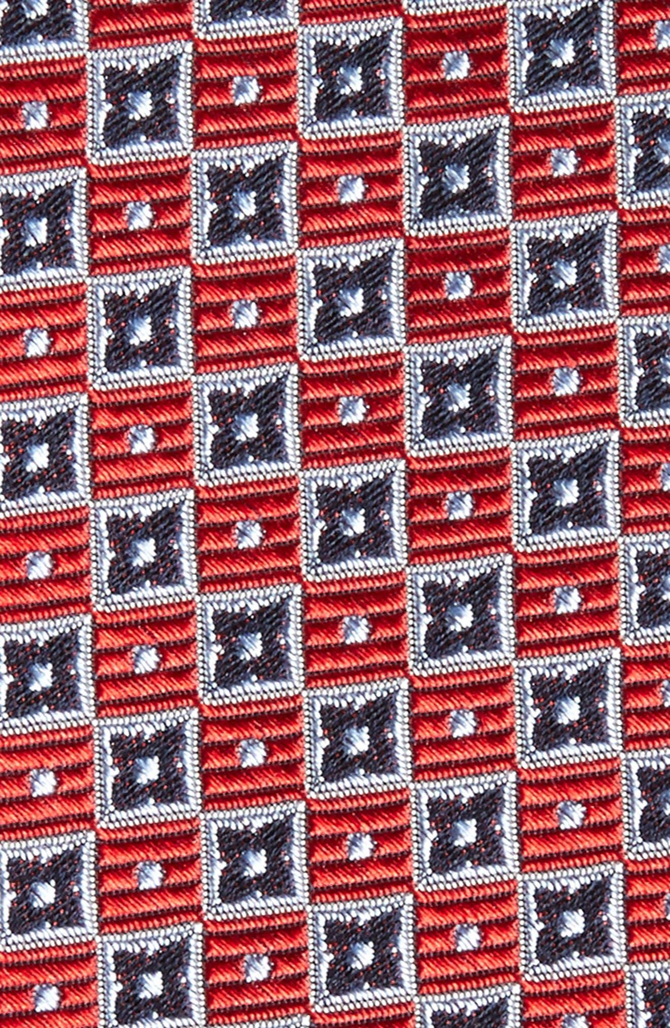 Alternate Image 2  - Nordstrom Men's Shop Beacon Geometric Silk Tie