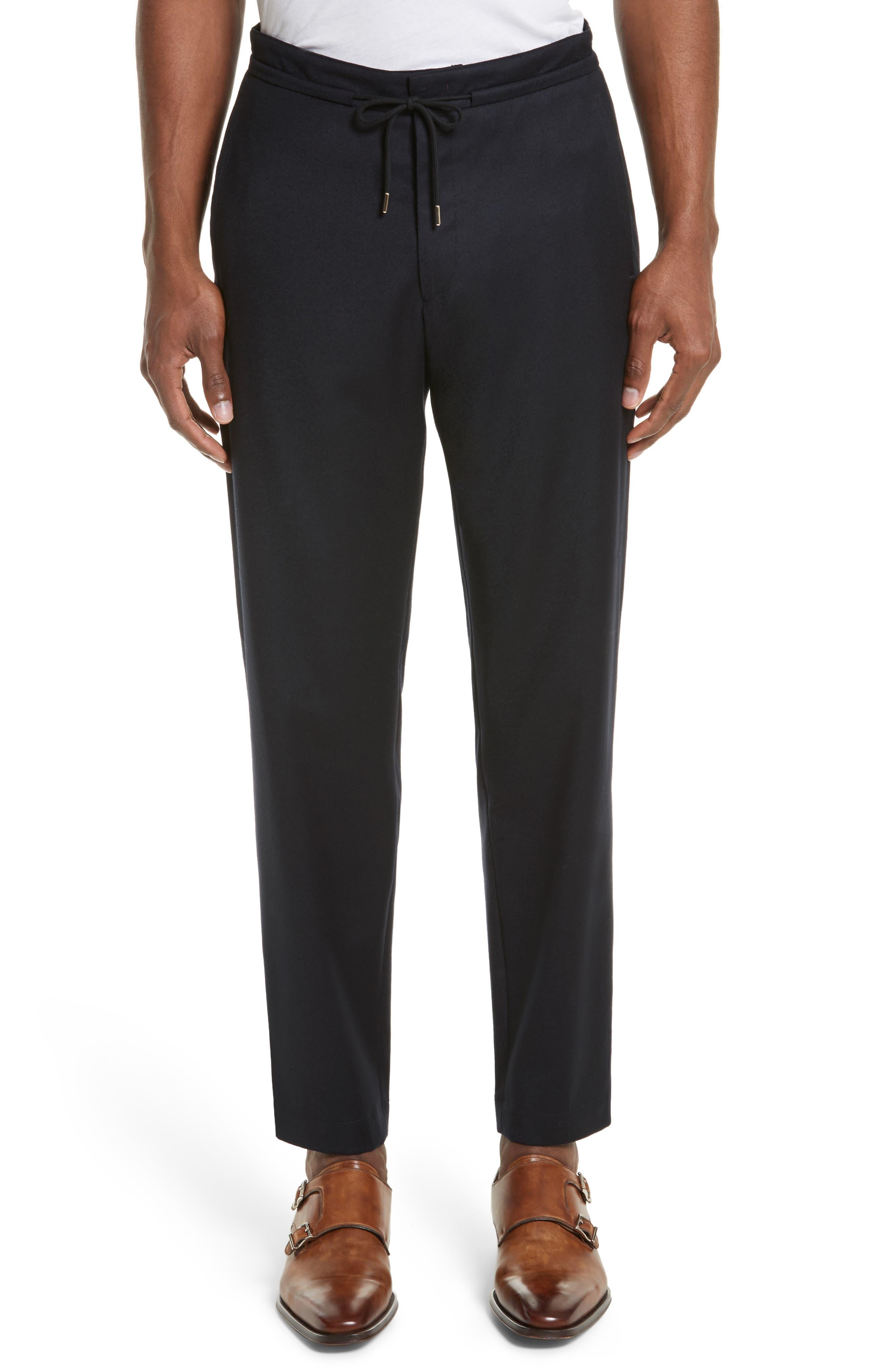 Main Image - Paul Smith Drawstring Trousers