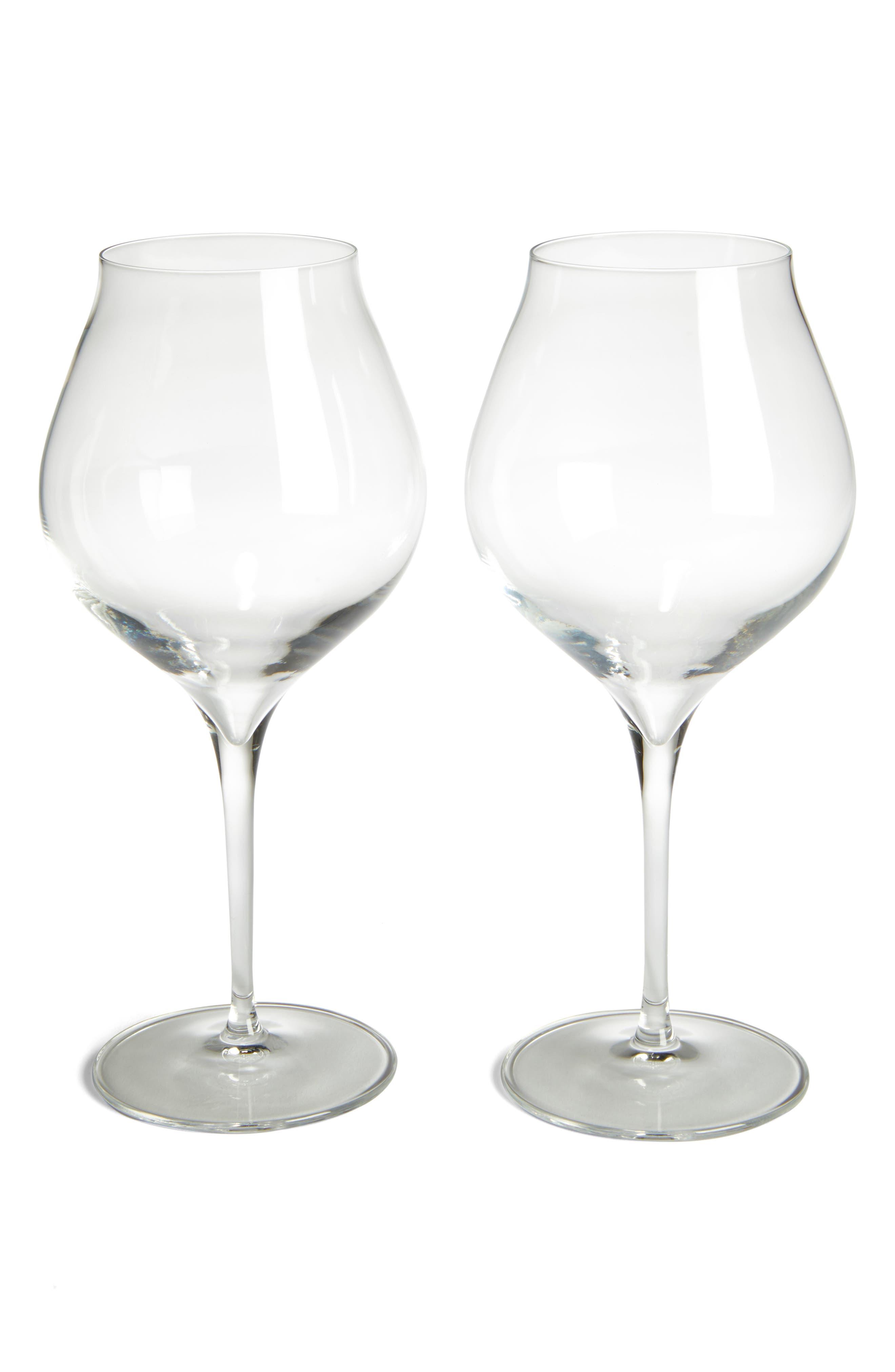 Main Image - Luigi Bormiolo Vinea Corvina/Amarone Set of 2 Red Wine Glasses