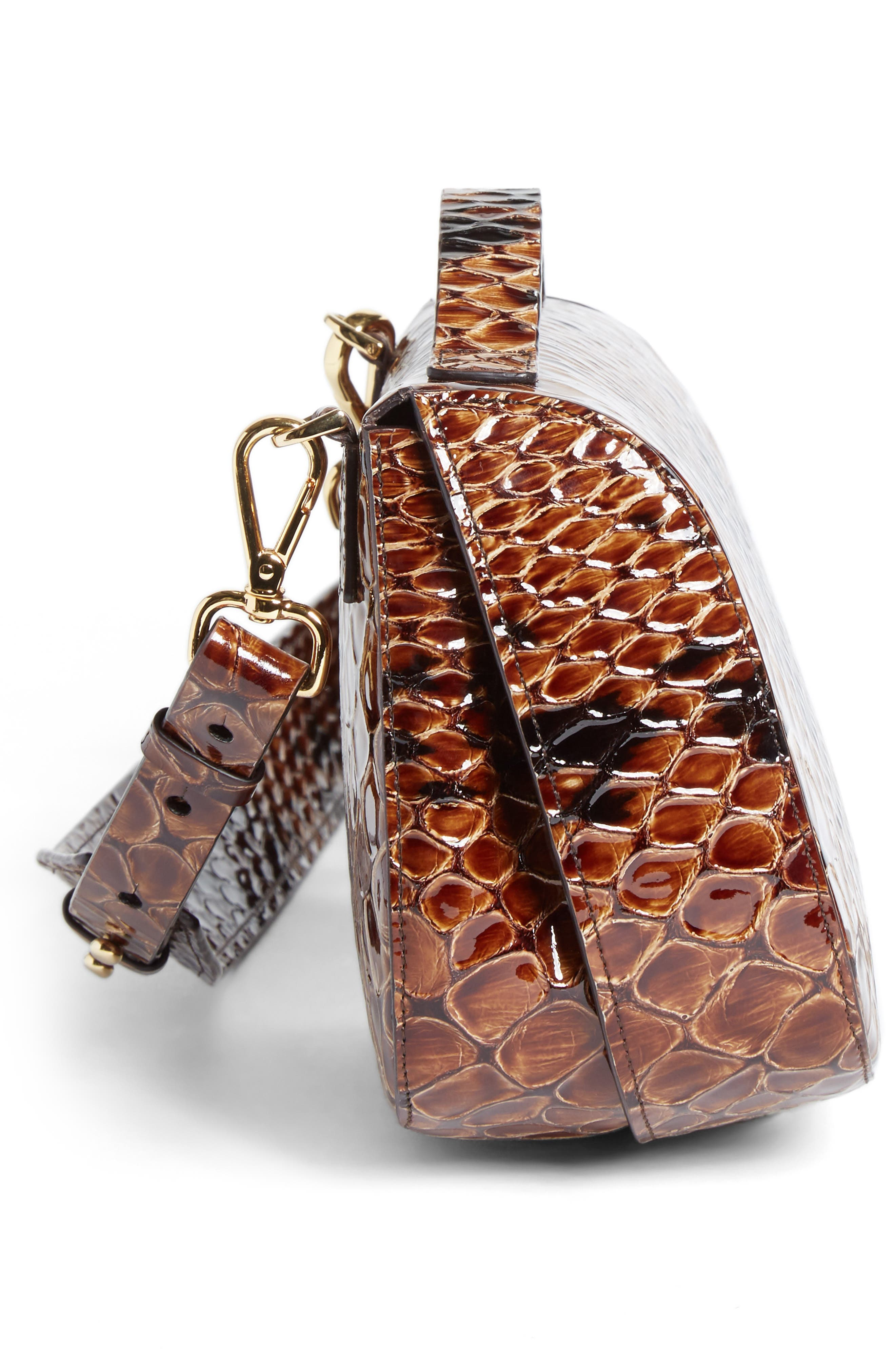 Alternate Image 5  - Simone Rocha Small Snake Embossed Leather Box Bag