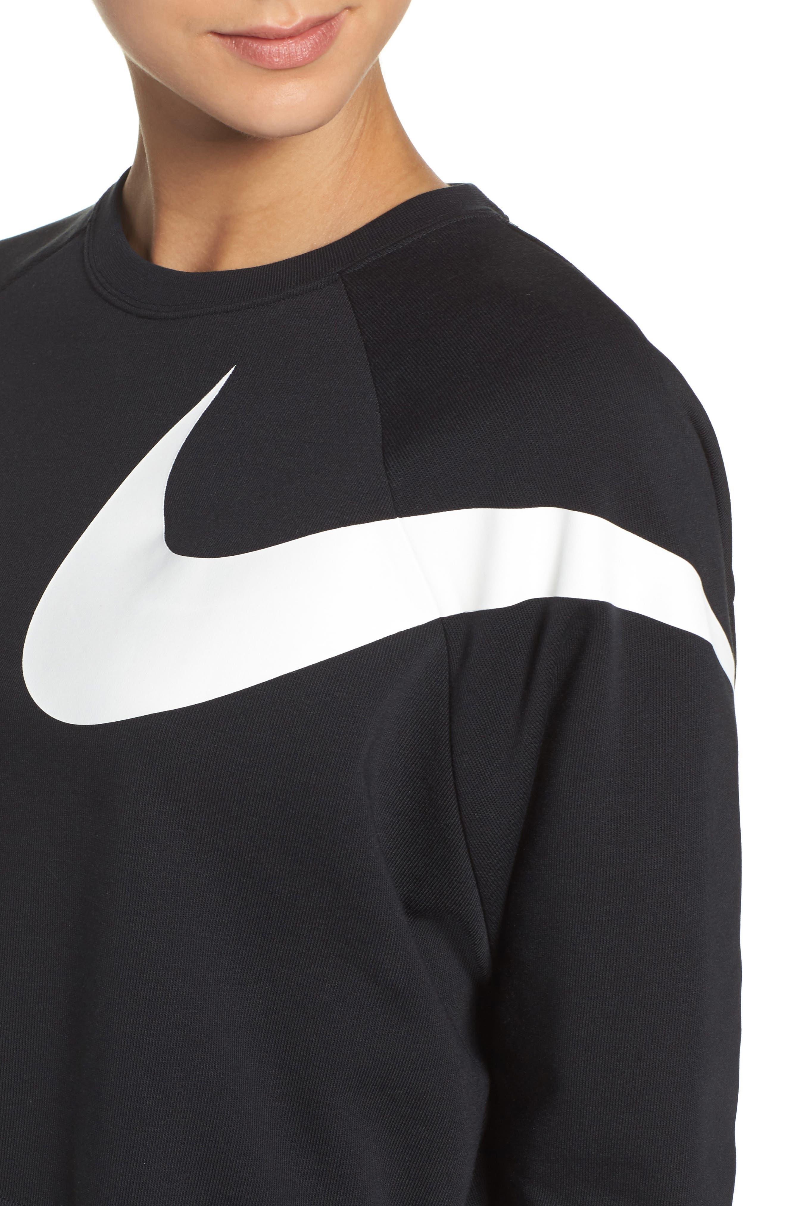 Alternate Image 4  - Nike Dry Versa Training Crop Top