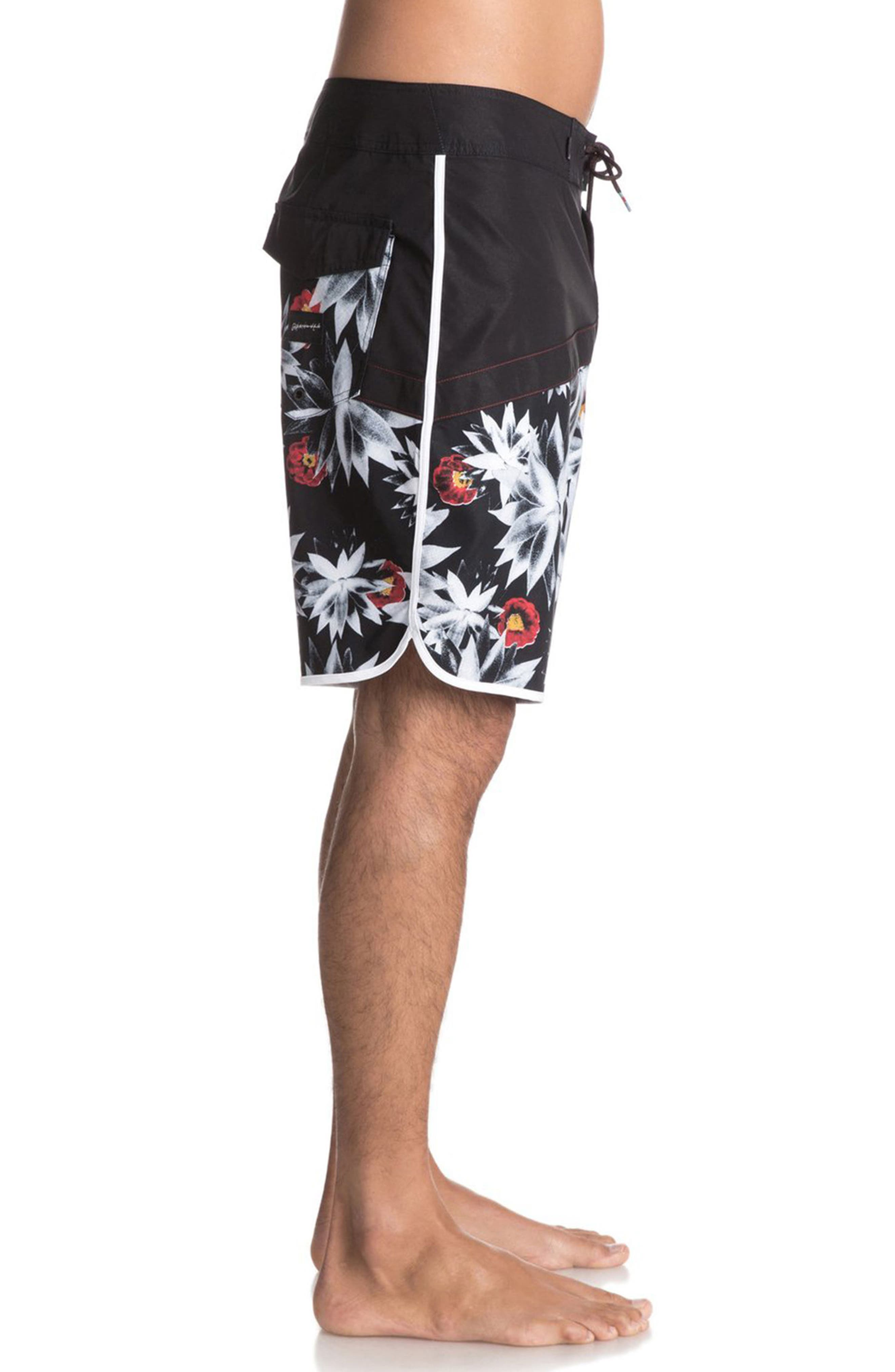 Alternate Image 3  - Quiksilver Crypt Scallop Board Shorts