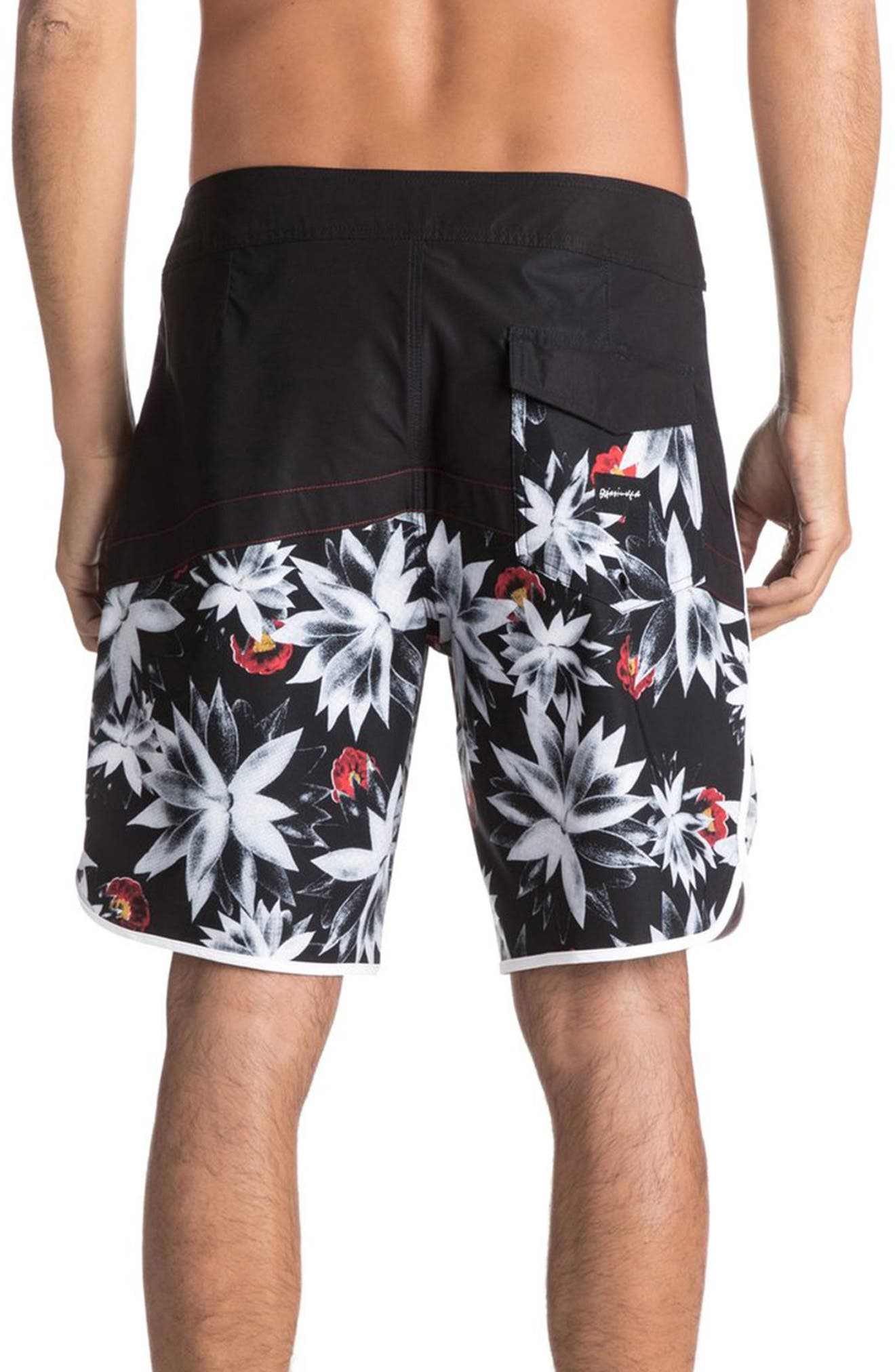 Alternate Image 2  - Quiksilver Crypt Scallop Board Shorts