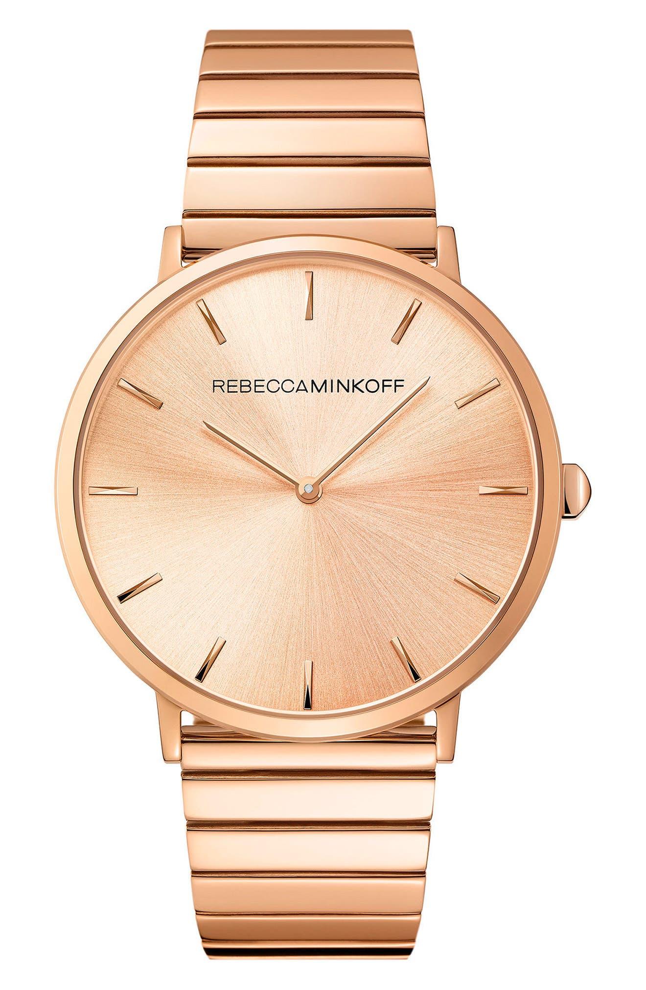 Main Image - Rebecca Minkoff Major Bracelet Watch, 40mm