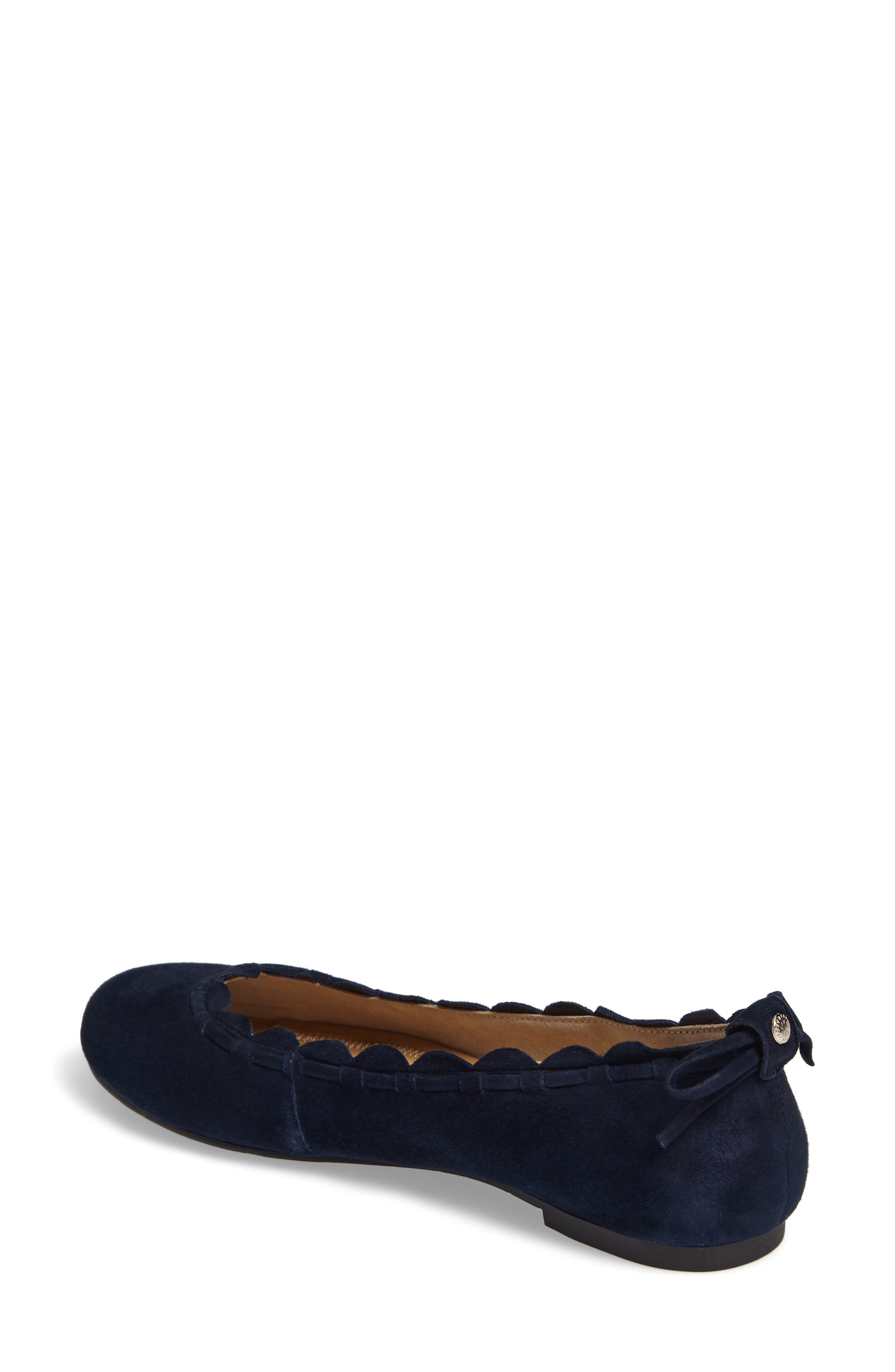 Alternate Image 2  - Jack Rogers Lucie Scalloped Flat (Women)