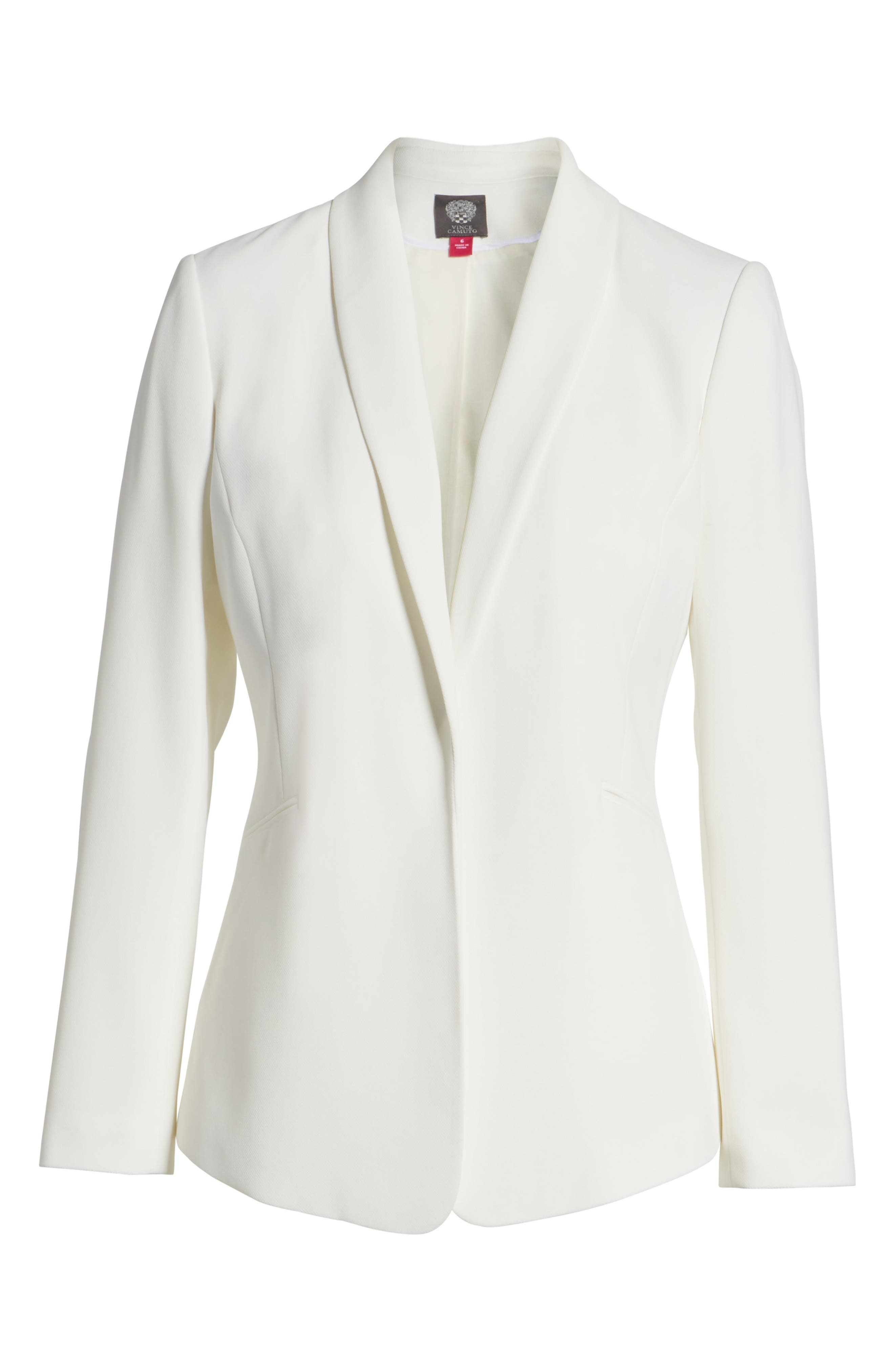 Alternate Image 6  - Vince Camuto Texture Base Blazer (Regular & Petite)