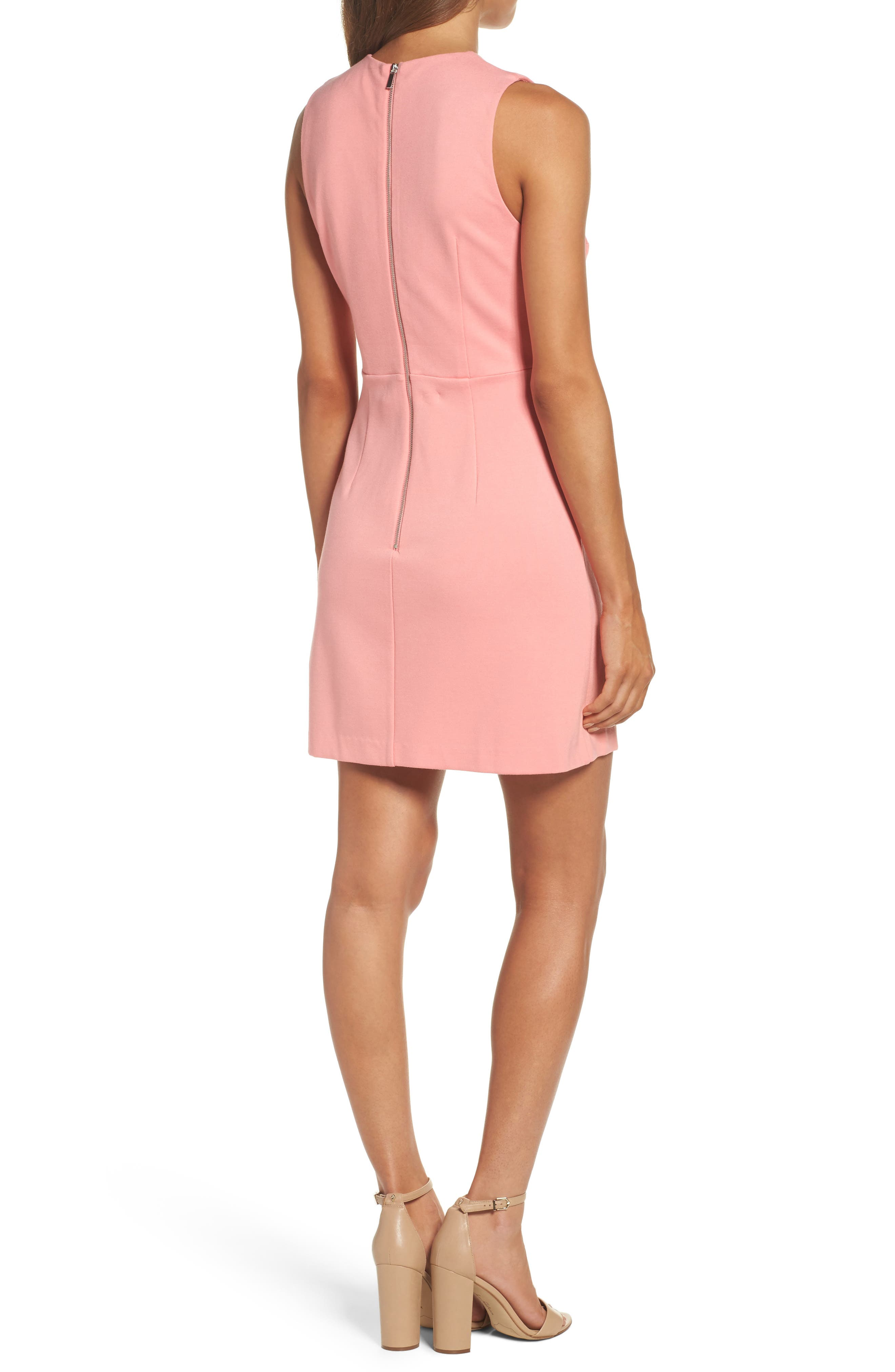 Lula Sheath Dress,                             Alternate thumbnail 2, color,                             Pink