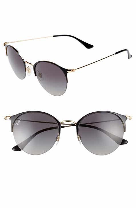 c5ab0ef8d7b Ray-Ban 50mm Round Clubmaster Sunglasses