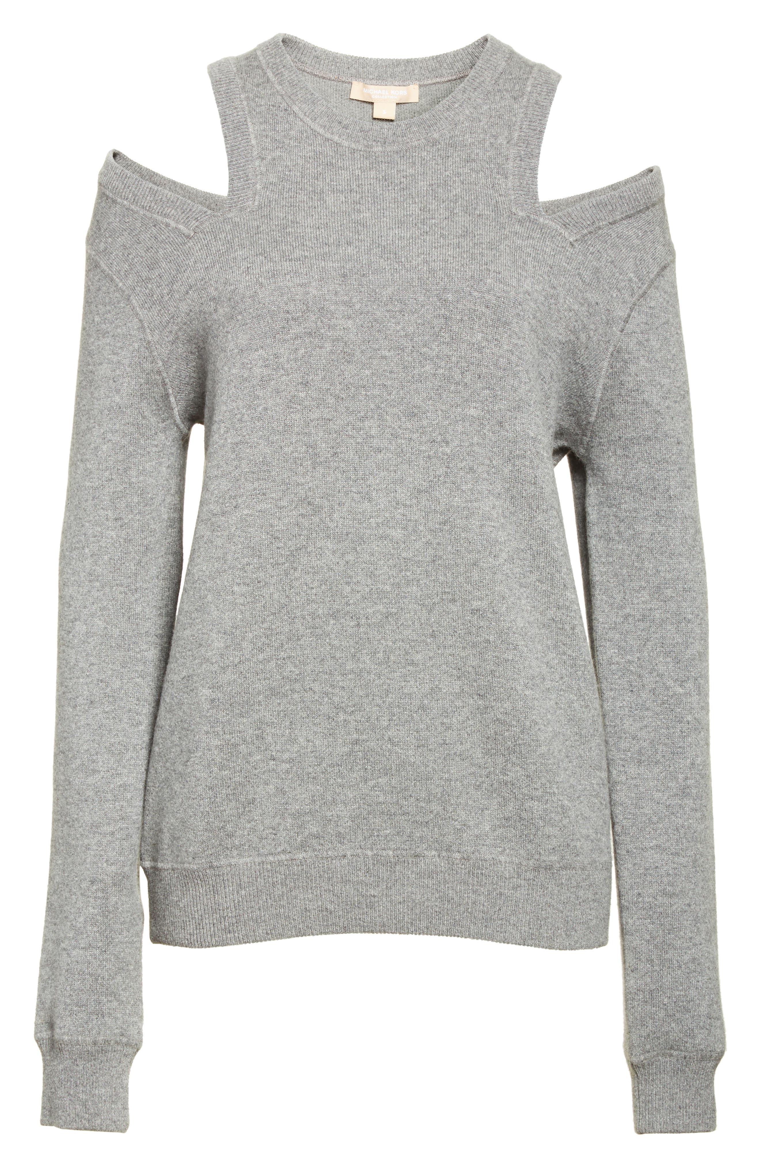 Alternate Image 6  - Michael Kors Cold Shoulder Sweater