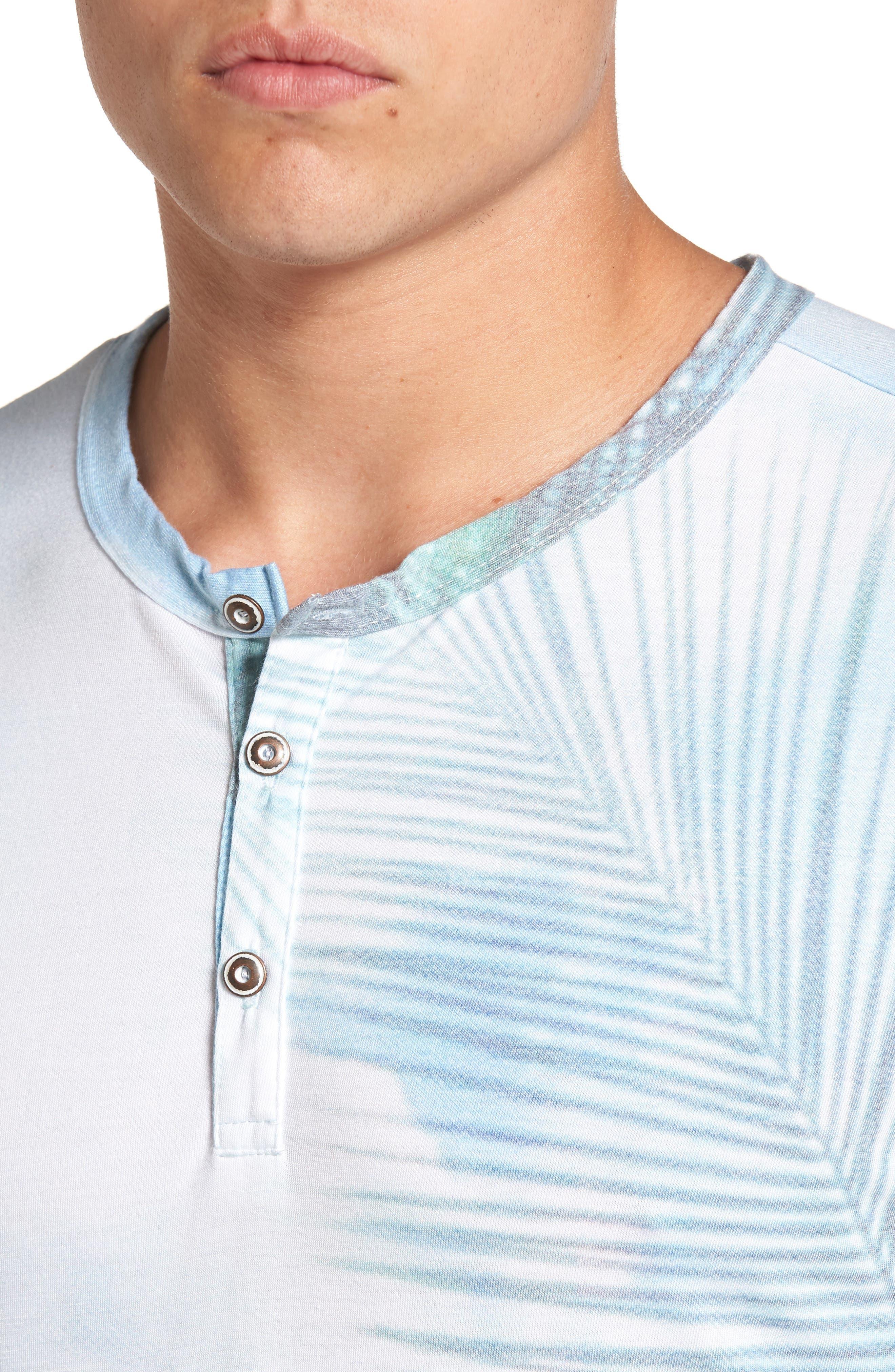 Quintana Henley T-Shirt,                             Alternate thumbnail 4, color,                             Quintanna